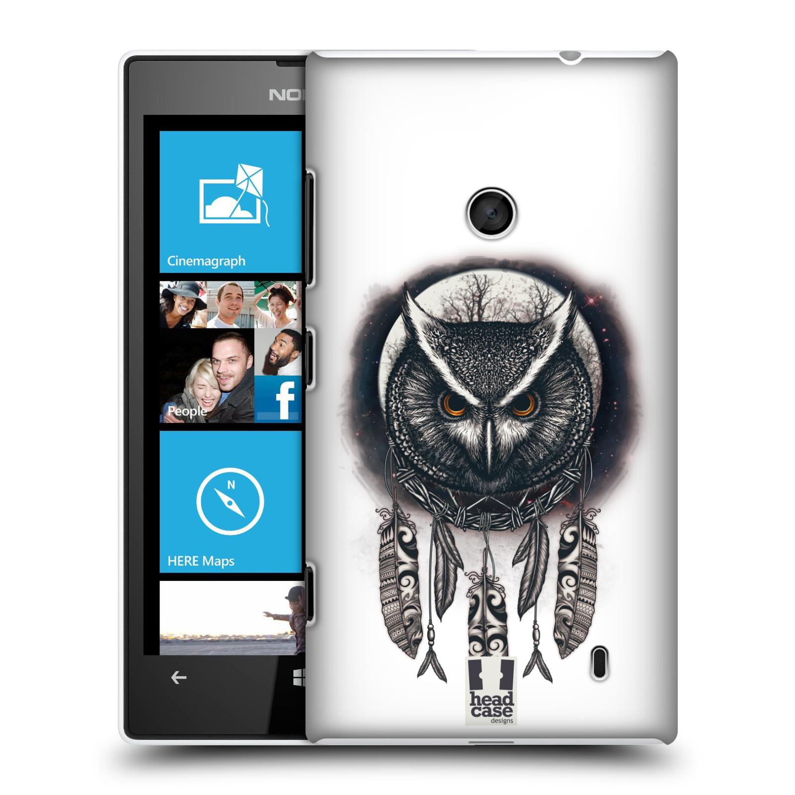 Plastové pouzdro na mobil Nokia Lumia 520 - Head Case - Soví lapač