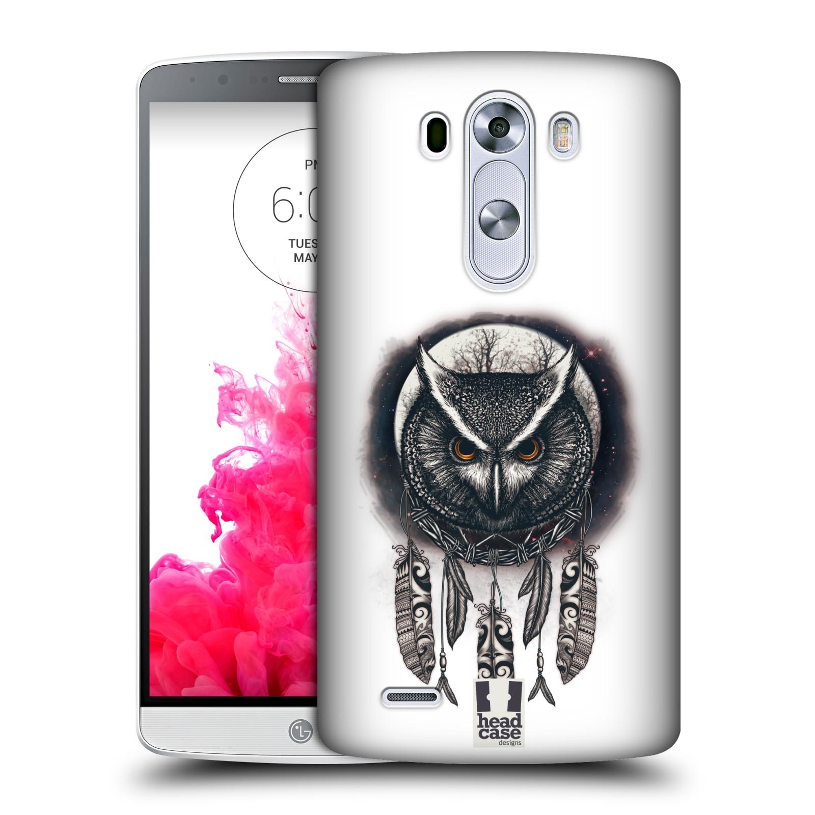 Plastové pouzdro na mobil LG G3 - Head Case - Soví lapač