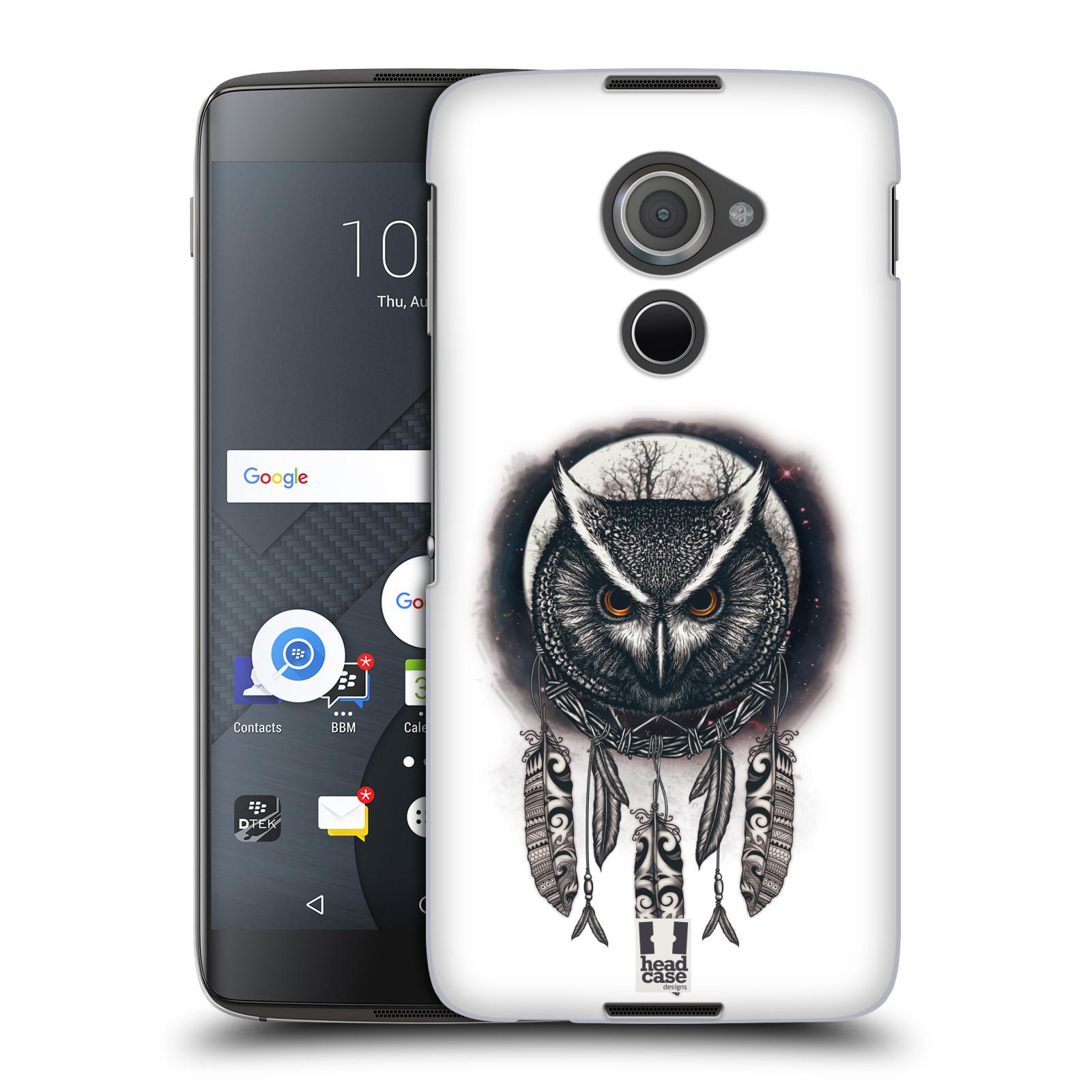 Plastové pouzdro na mobil Blackberry DTEK60 (Argon) - Head Case - Soví lapač