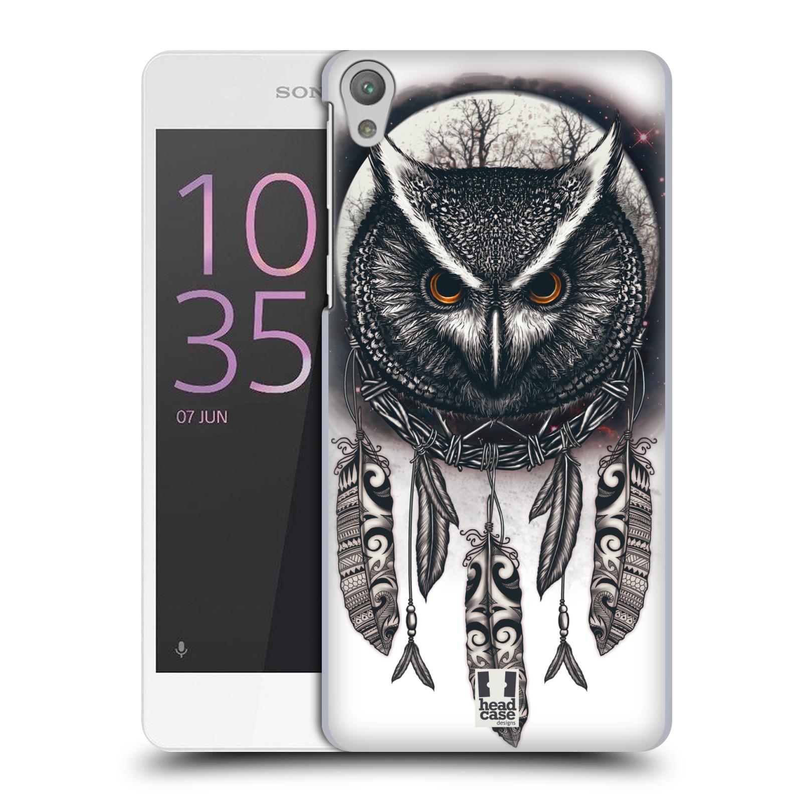 Plastové pouzdro na mobil Sony Xperia E5 - Head Case - Soví lapač