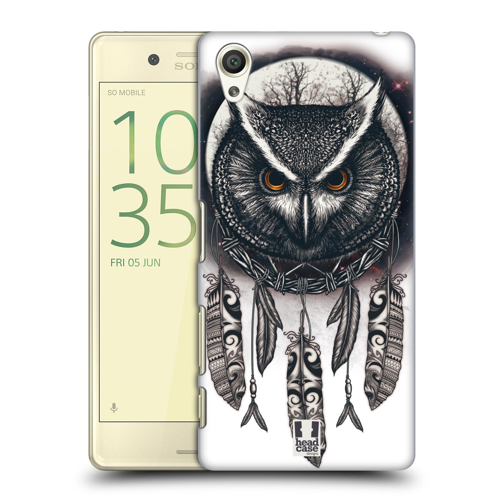 Plastové pouzdro na mobil Sony Xperia X - Head Case - Soví lapač