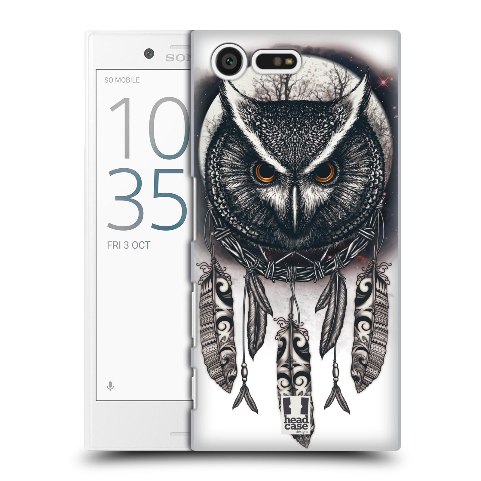 Plastové pouzdro na mobil Sony Xperia X Compact - Head Case - Soví lapač