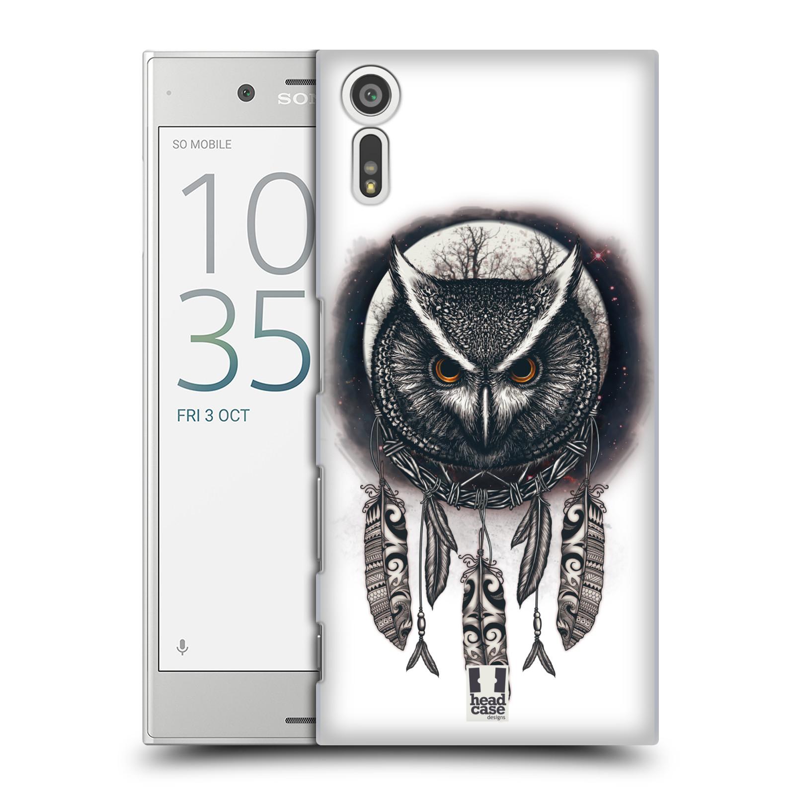 Plastové pouzdro na mobil Sony Xperia XZ - Head Case - Soví lapač