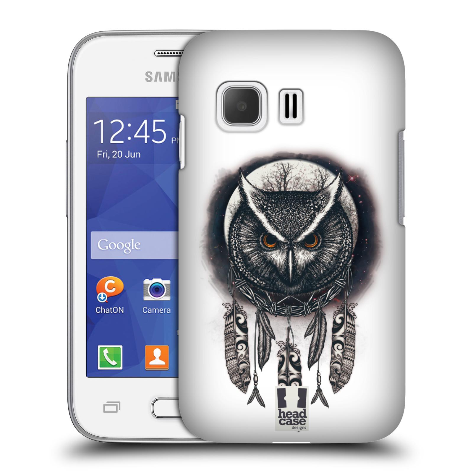 Plastové pouzdro na mobil Samsung Galaxy Young 2 - Head Case - Soví lapač