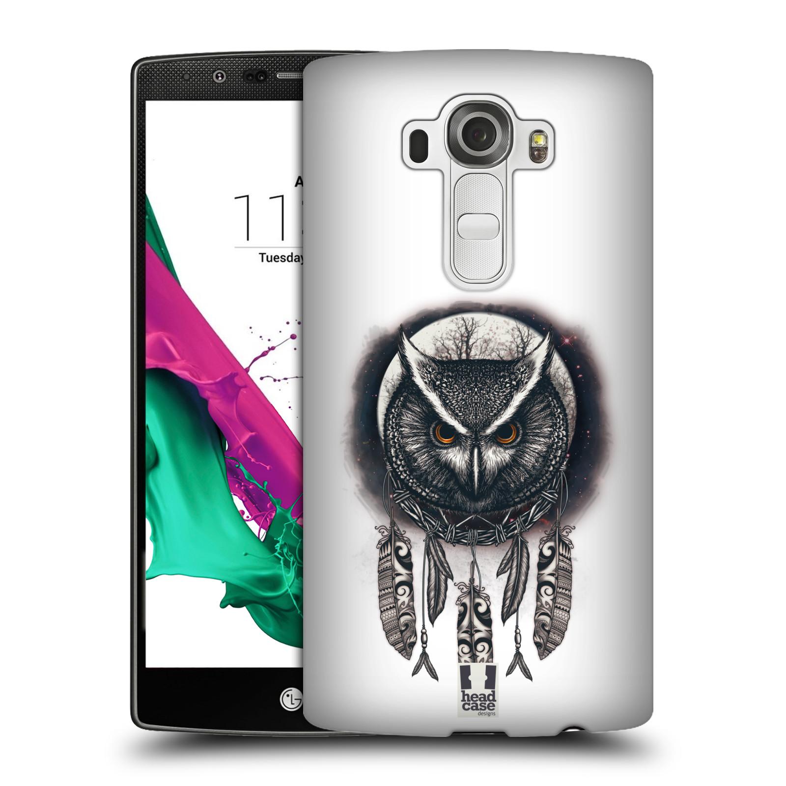 Plastové pouzdro na mobil LG G4 - Head Case - Soví lapač