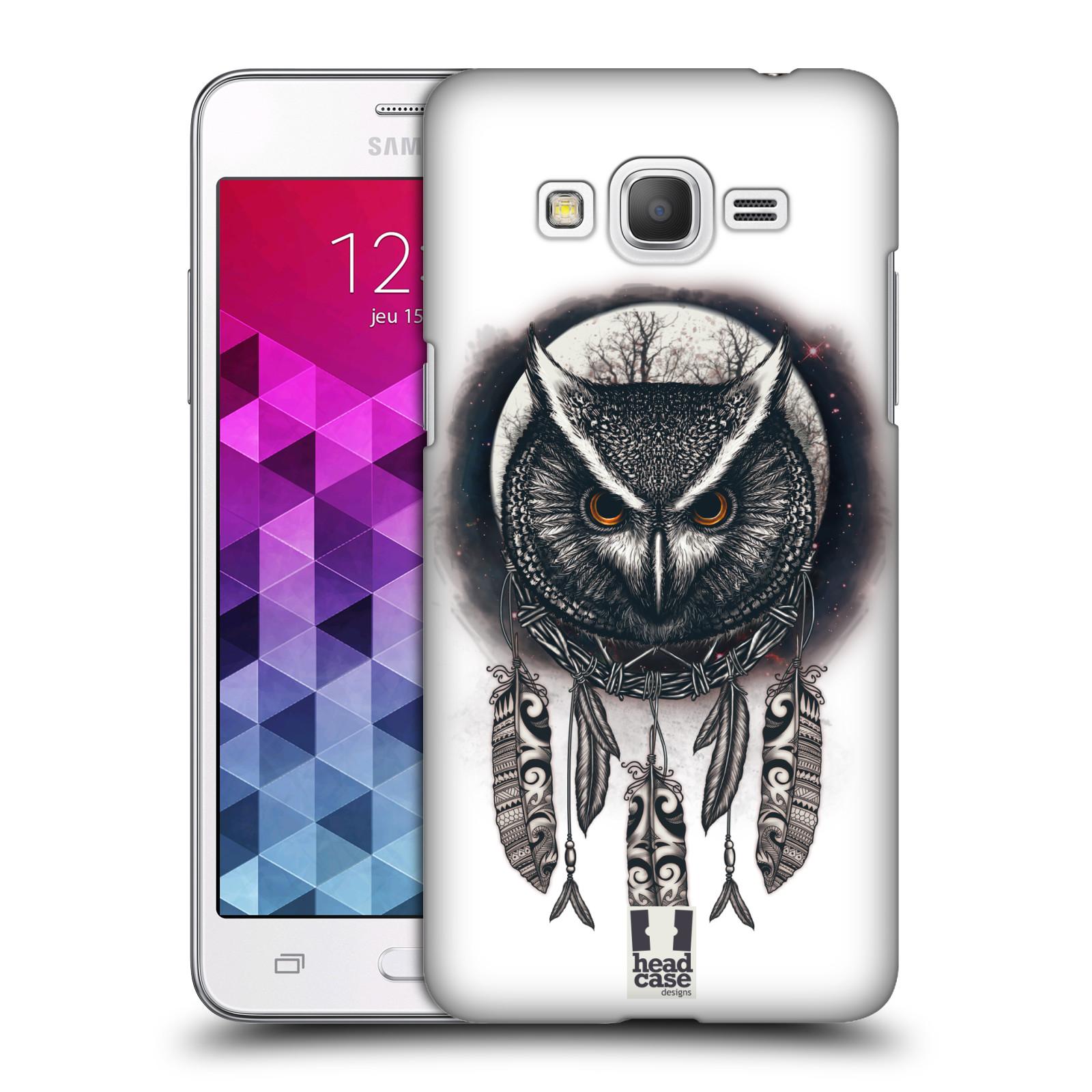 Plastové pouzdro na mobil Samsung Galaxy Grand Prime - Head Case - Soví lapač