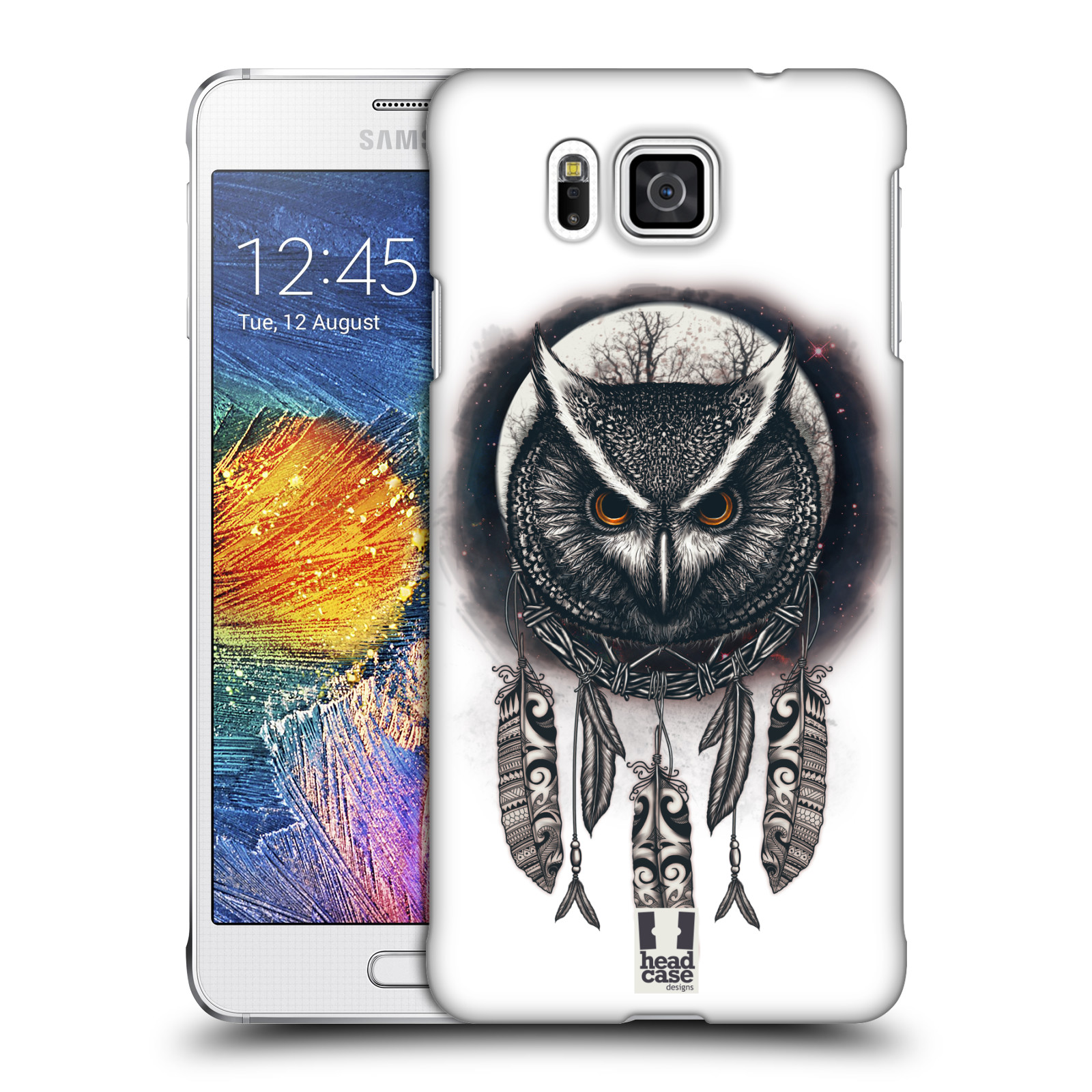 Plastové pouzdro na mobil Samsung Galaxy Alpha - Head Case - Soví lapač