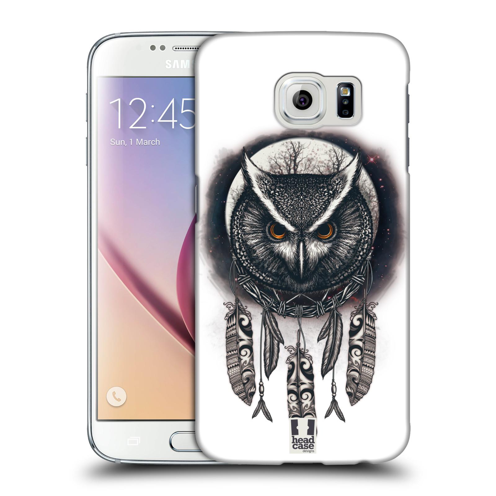 Plastové pouzdro na mobil Samsung Galaxy S6 - Head Case - Soví lapač
