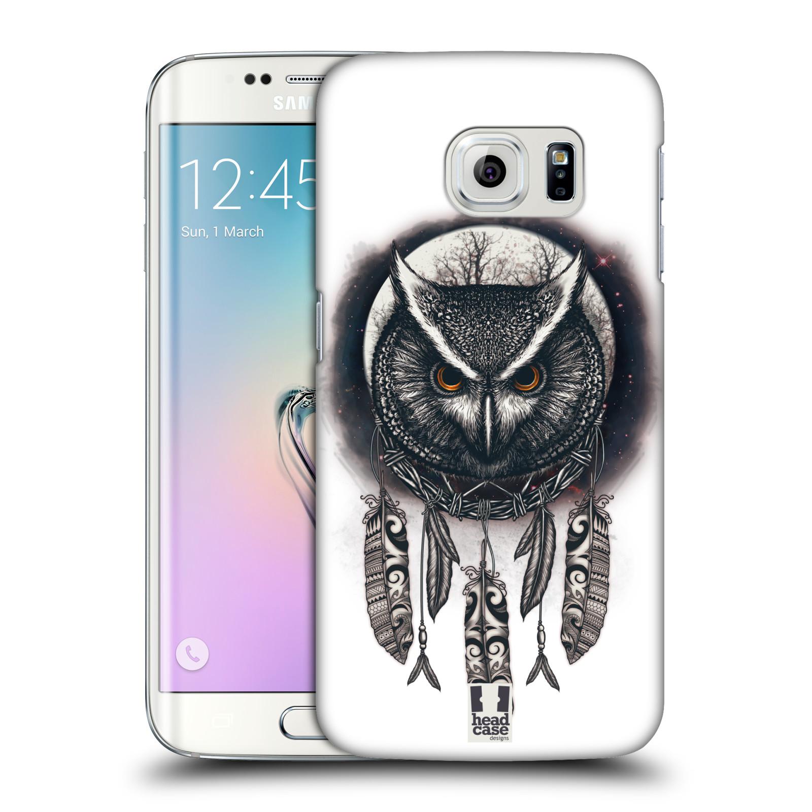 Plastové pouzdro na mobil Samsung Galaxy S6 Edge - Head Case - Soví lapač