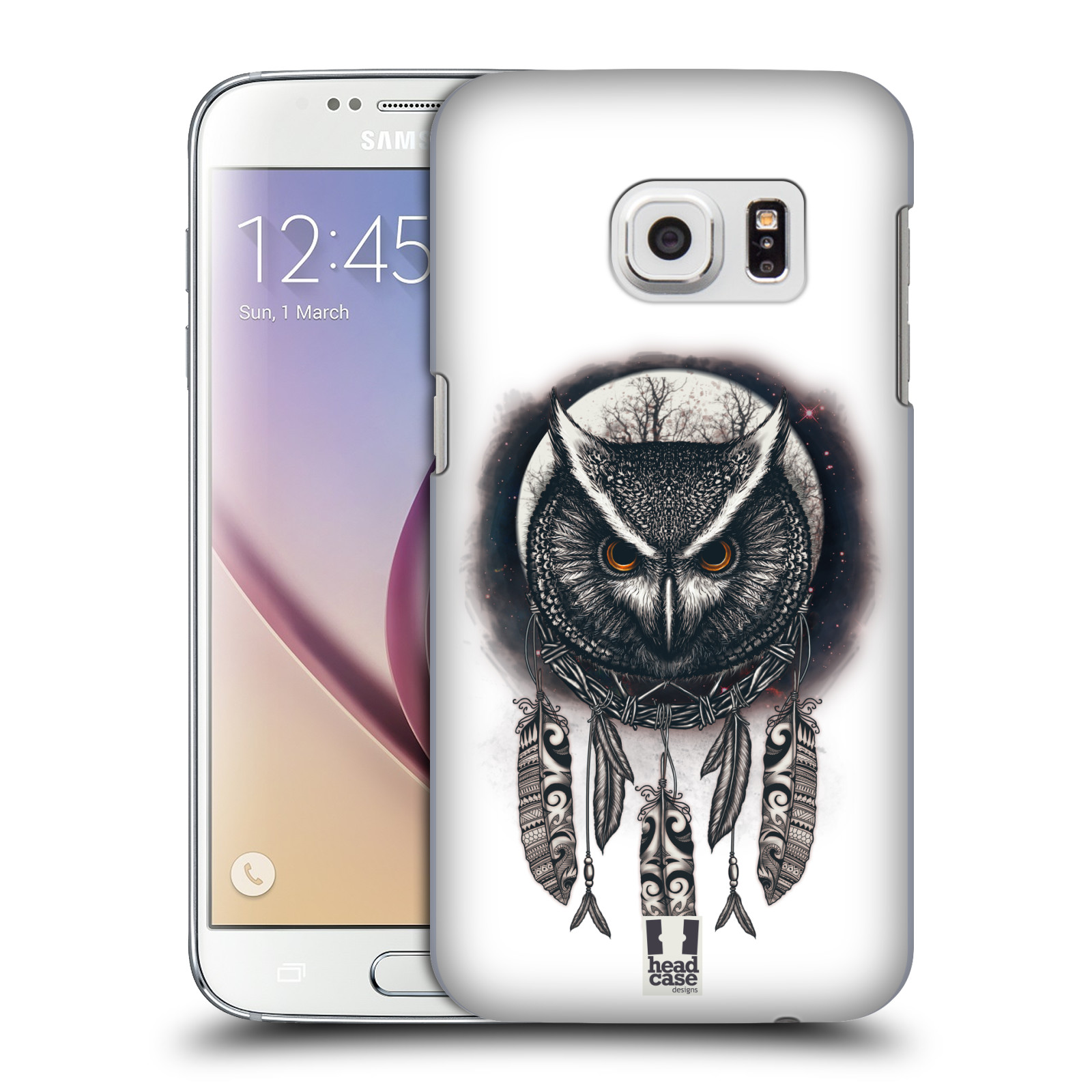 Plastové pouzdro na mobil Samsung Galaxy S7 - Head Case - Soví lapač