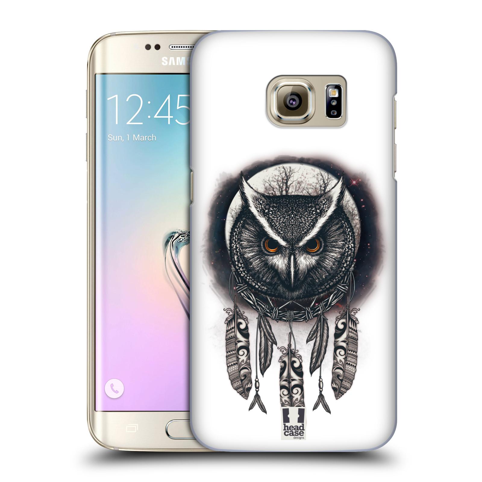 Plastové pouzdro na mobil Samsung Galaxy S7 Edge - Head Case - Soví lapač