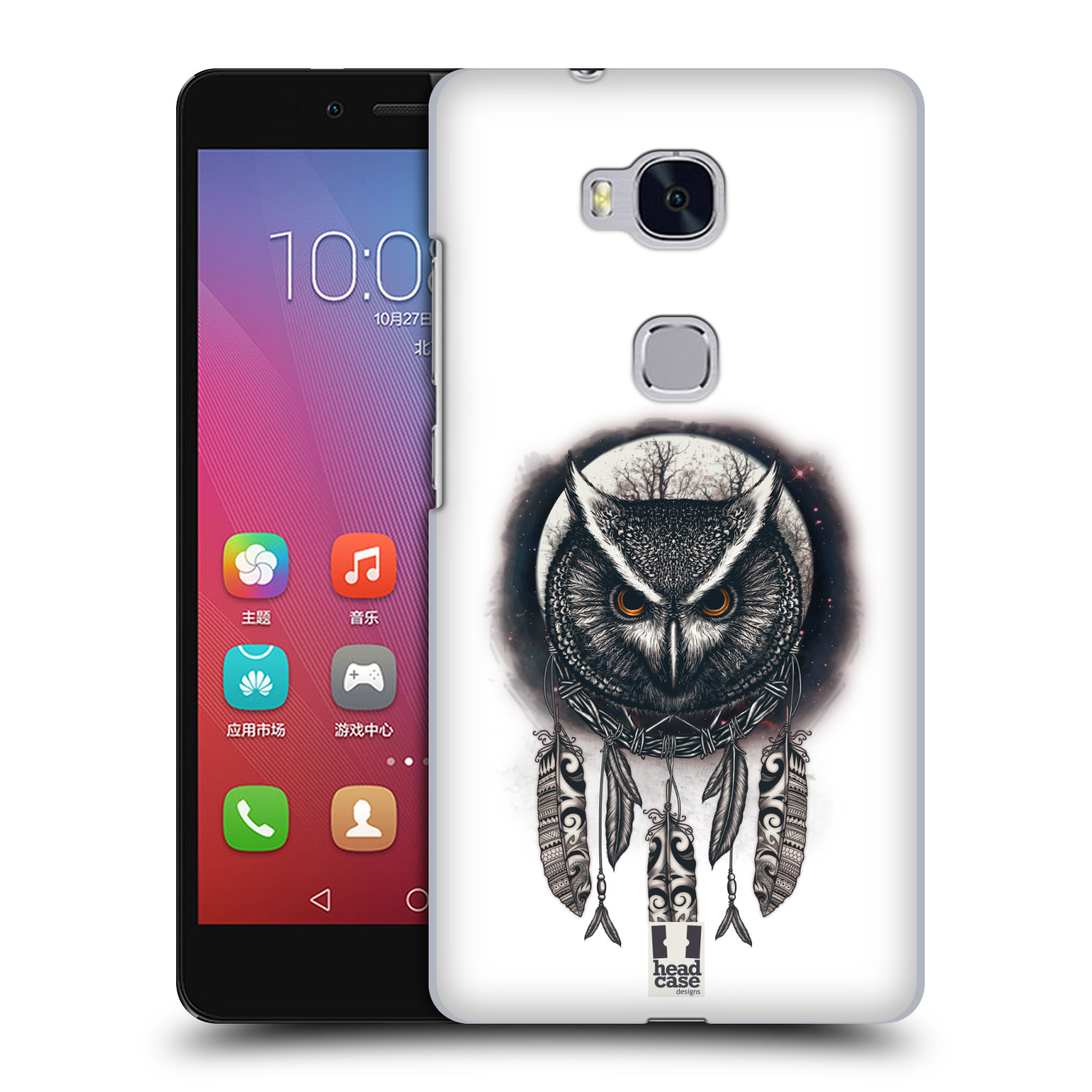 Plastové pouzdro na mobil Honor 5X - Head Case - Soví lapač