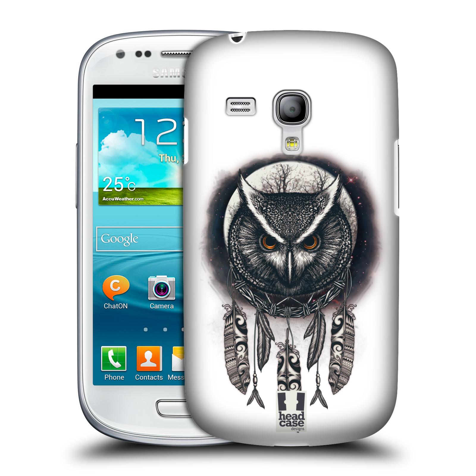 Plastové pouzdro na mobil Samsung Galaxy S III Mini - Head Case - Soví lapač