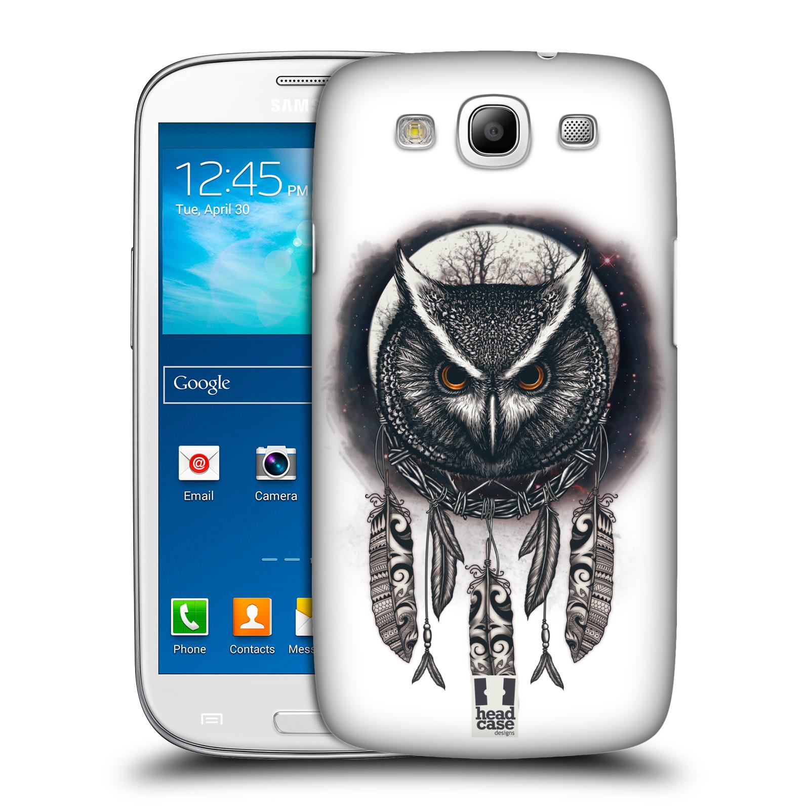 Plastové pouzdro na mobil Samsung Galaxy S III - Head Case - Soví lapač