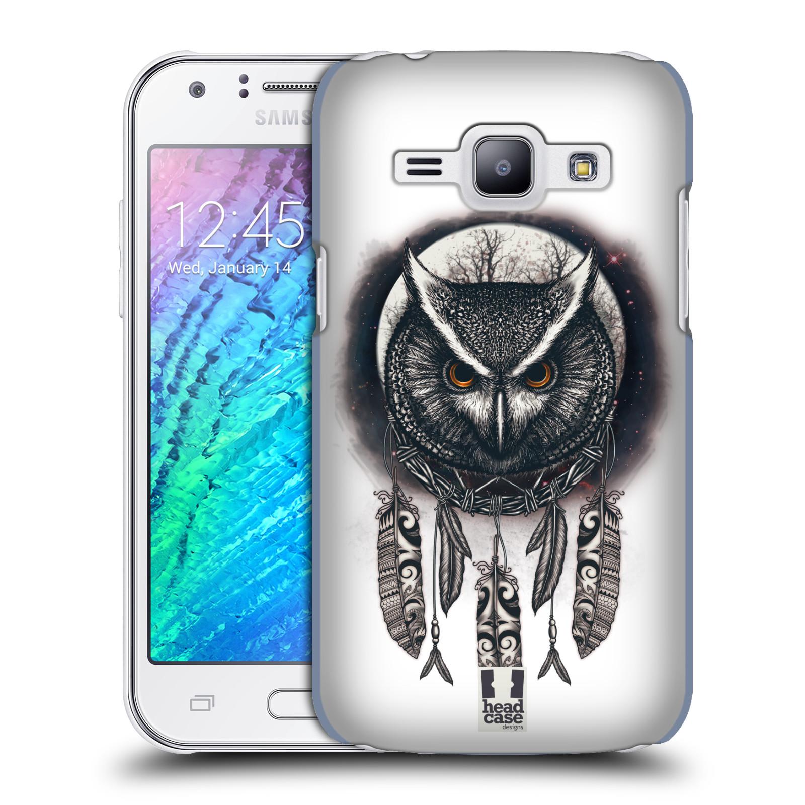 Plastové pouzdro na mobil Samsung Galaxy J1 - Head Case - Soví lapač