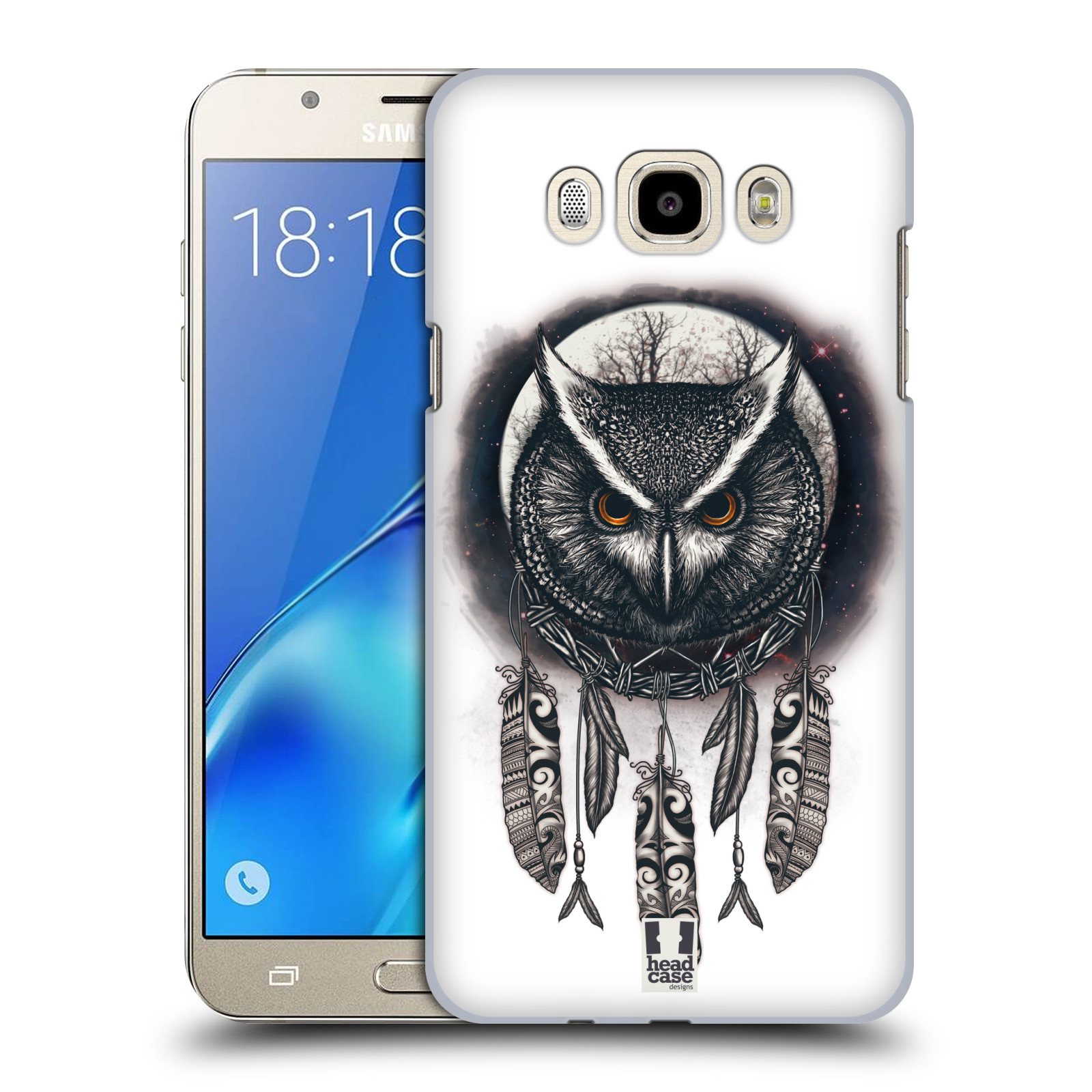 Plastové pouzdro na mobil Samsung Galaxy J7 (2016) - Head Case - Soví lapač