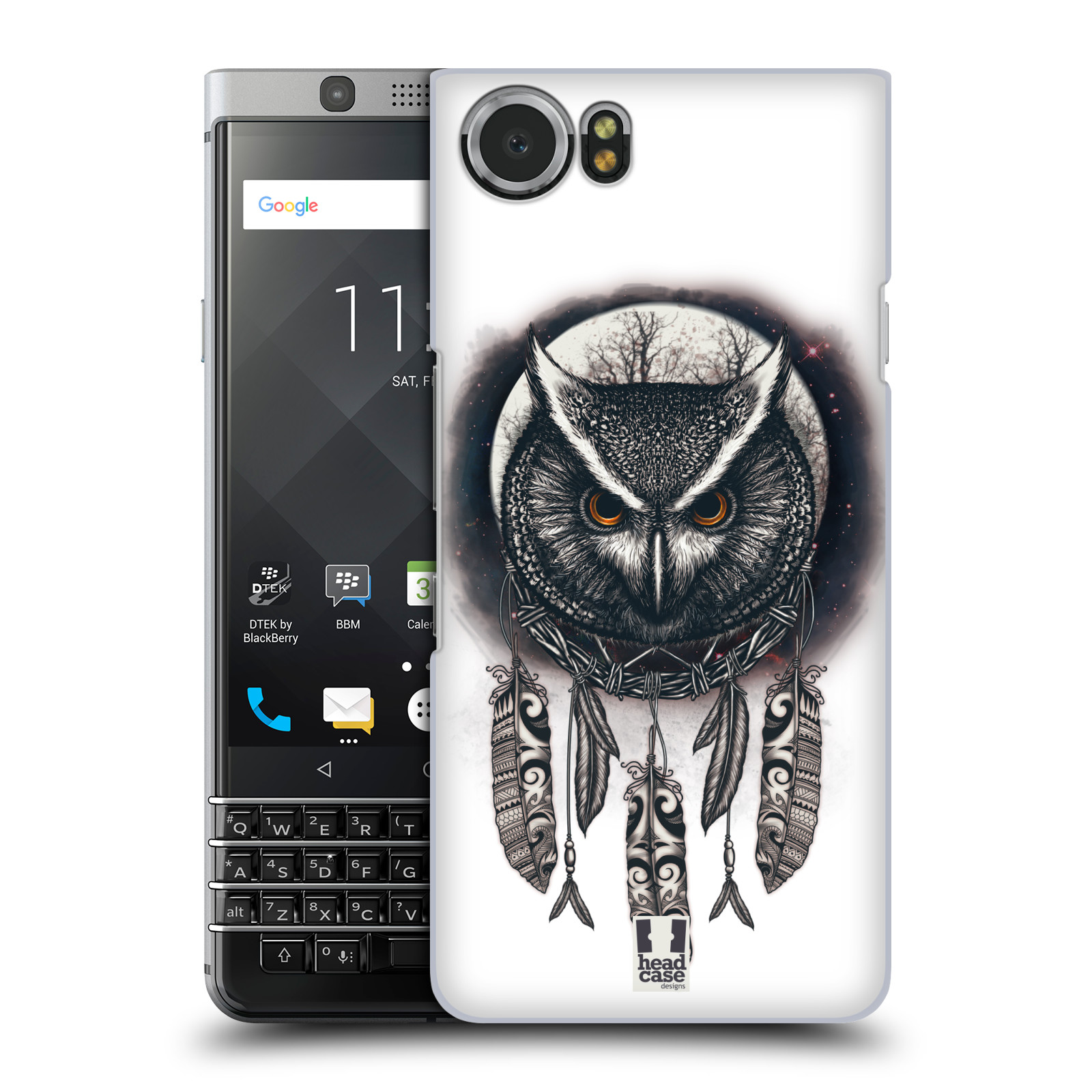 Plastové pouzdro na mobil BlackBerry KEYone - Head Case - Soví lapač