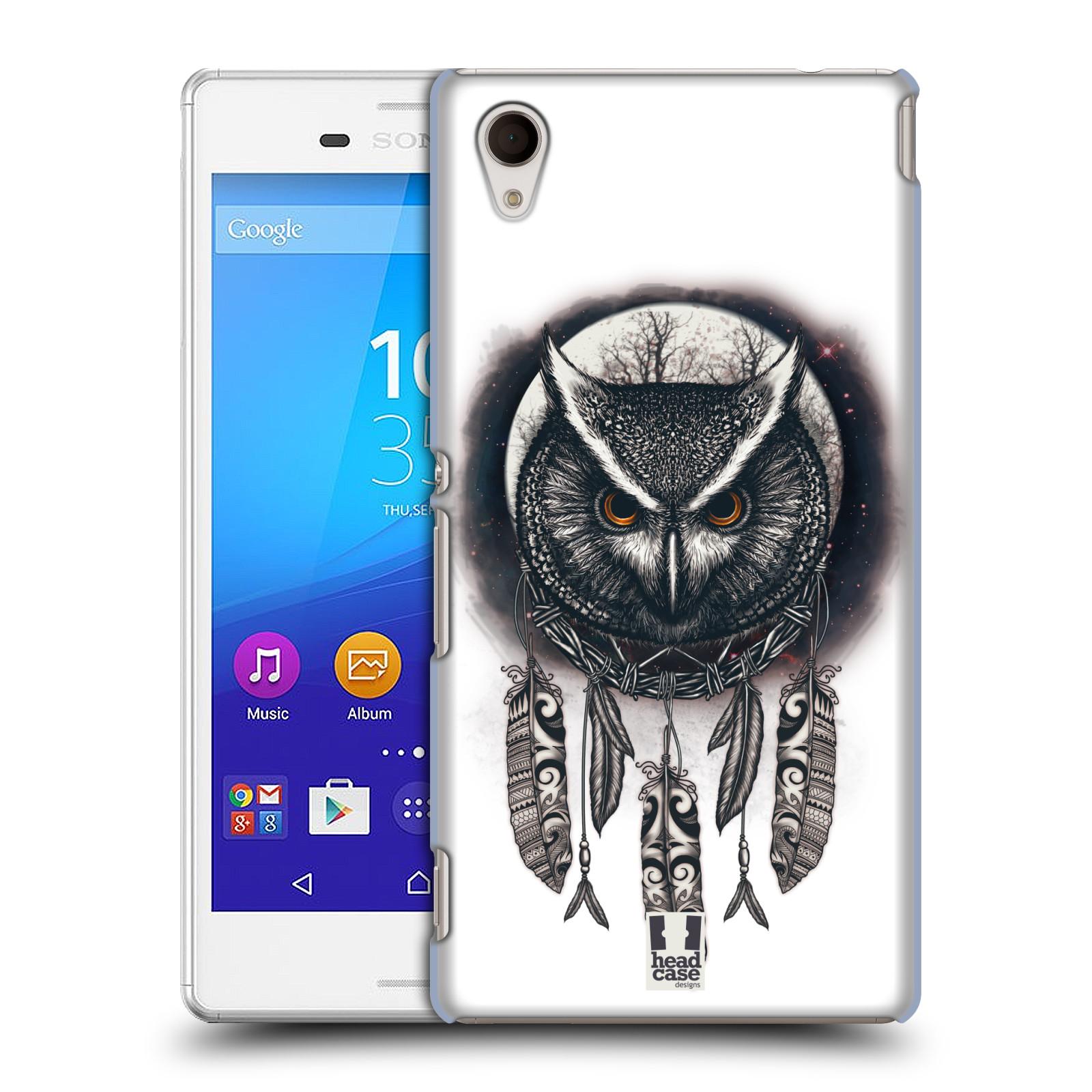 Plastové pouzdro na mobil Sony Xperia M4 Aqua E2303 - Head Case - Soví lapač