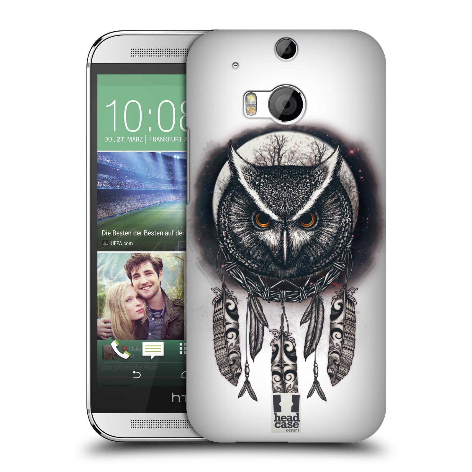 Plastové pouzdro na mobil HTC ONE M8 - Head Case - Soví lapač
