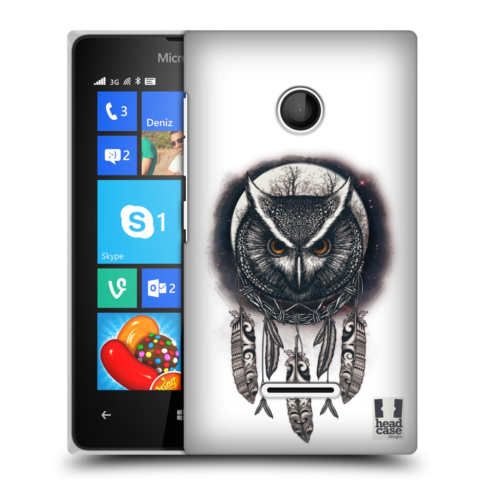 Plastové pouzdro na mobil Microsoft Lumia 435 - Head Case - Soví lapač