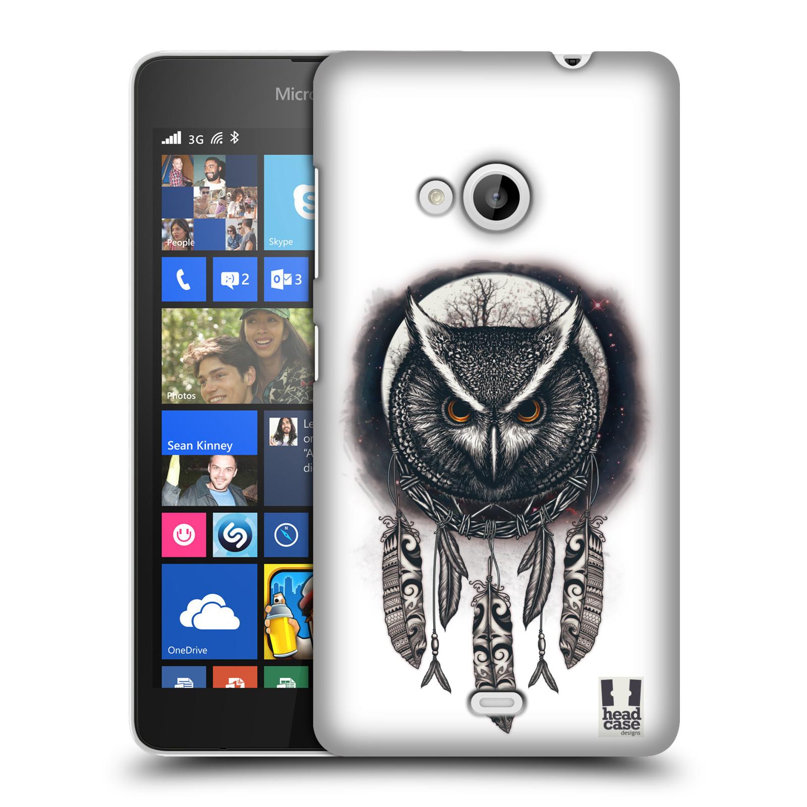 Plastové pouzdro na mobil Microsoft Lumia 535 - Head Case - Soví lapač