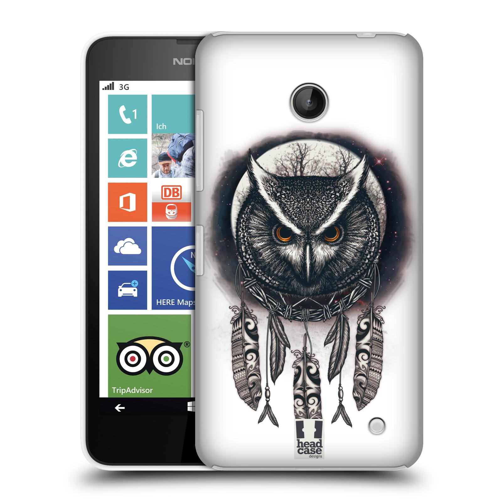 Plastové pouzdro na mobil Nokia Lumia 630 - Head Case - Soví lapač