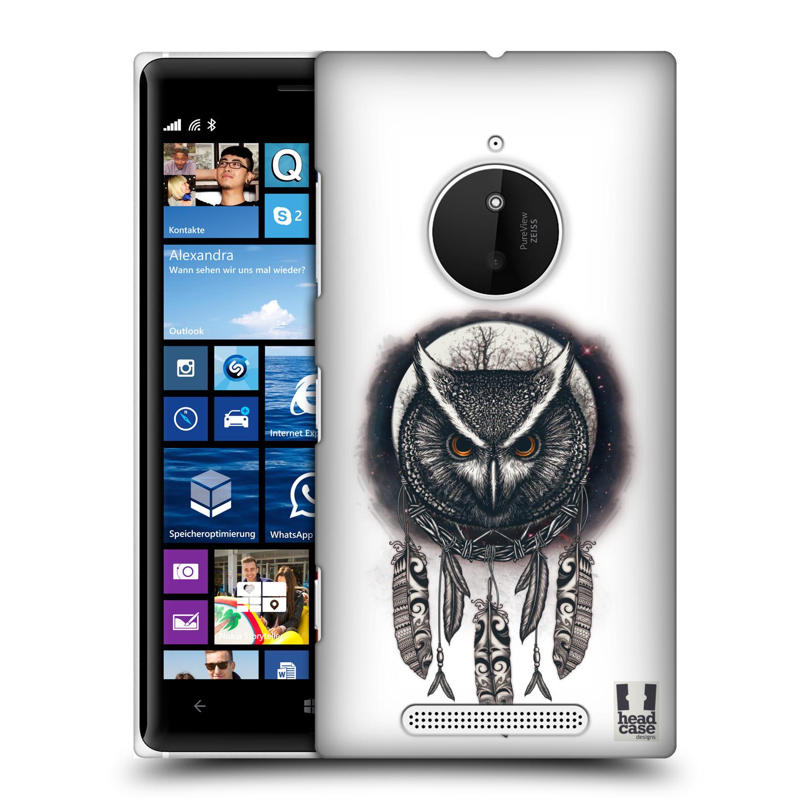 Plastové pouzdro na mobil Nokia Lumia 830 - Head Case - Soví lapač