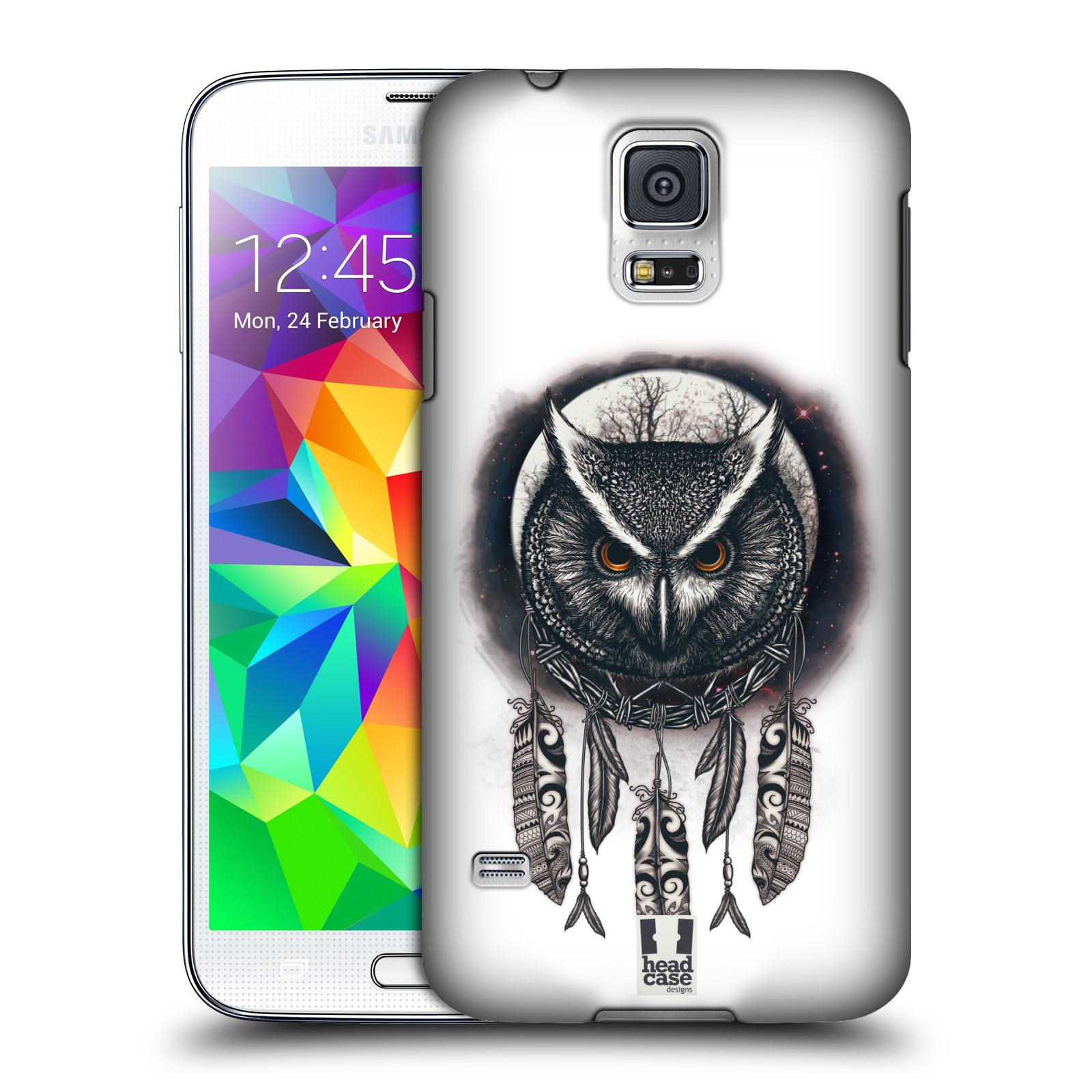 Plastové pouzdro na mobil Samsung Galaxy S5 - Head Case - Soví lapač
