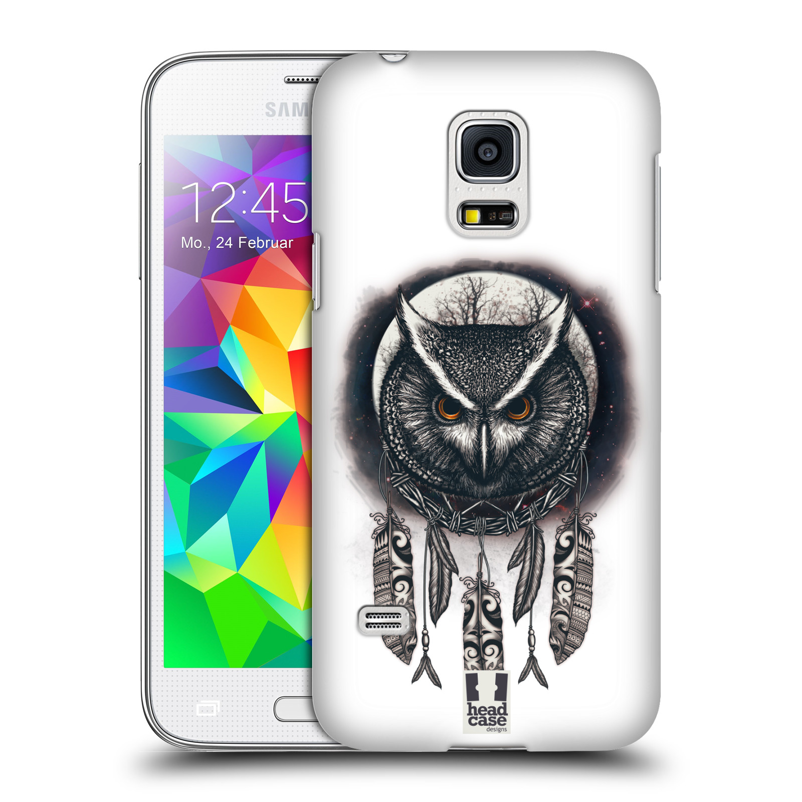 Plastové pouzdro na mobil Samsung Galaxy S5 Mini - Head Case - Soví lapač