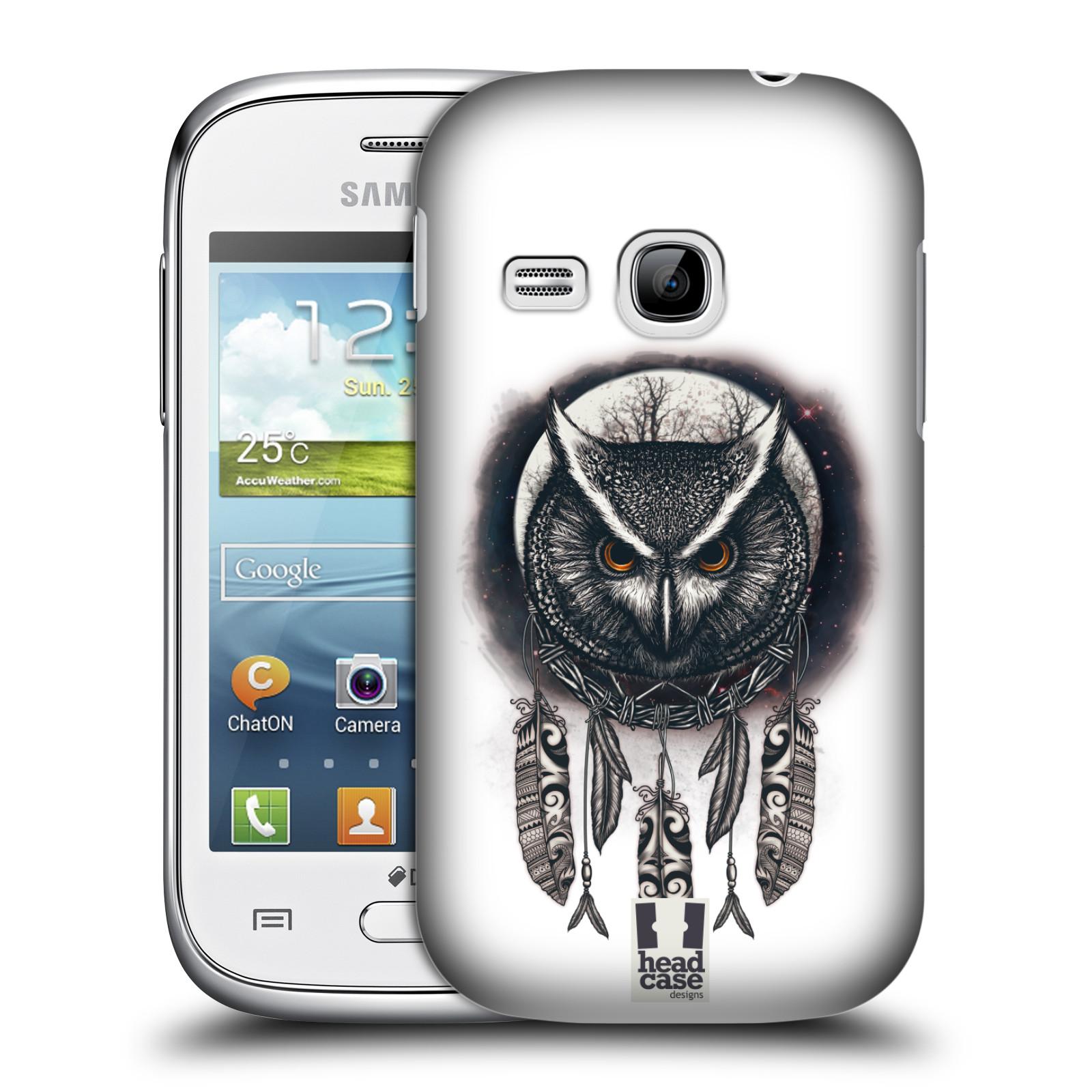 Plastové pouzdro na mobil Samsung Galaxy Young - Head Case - Soví lapač