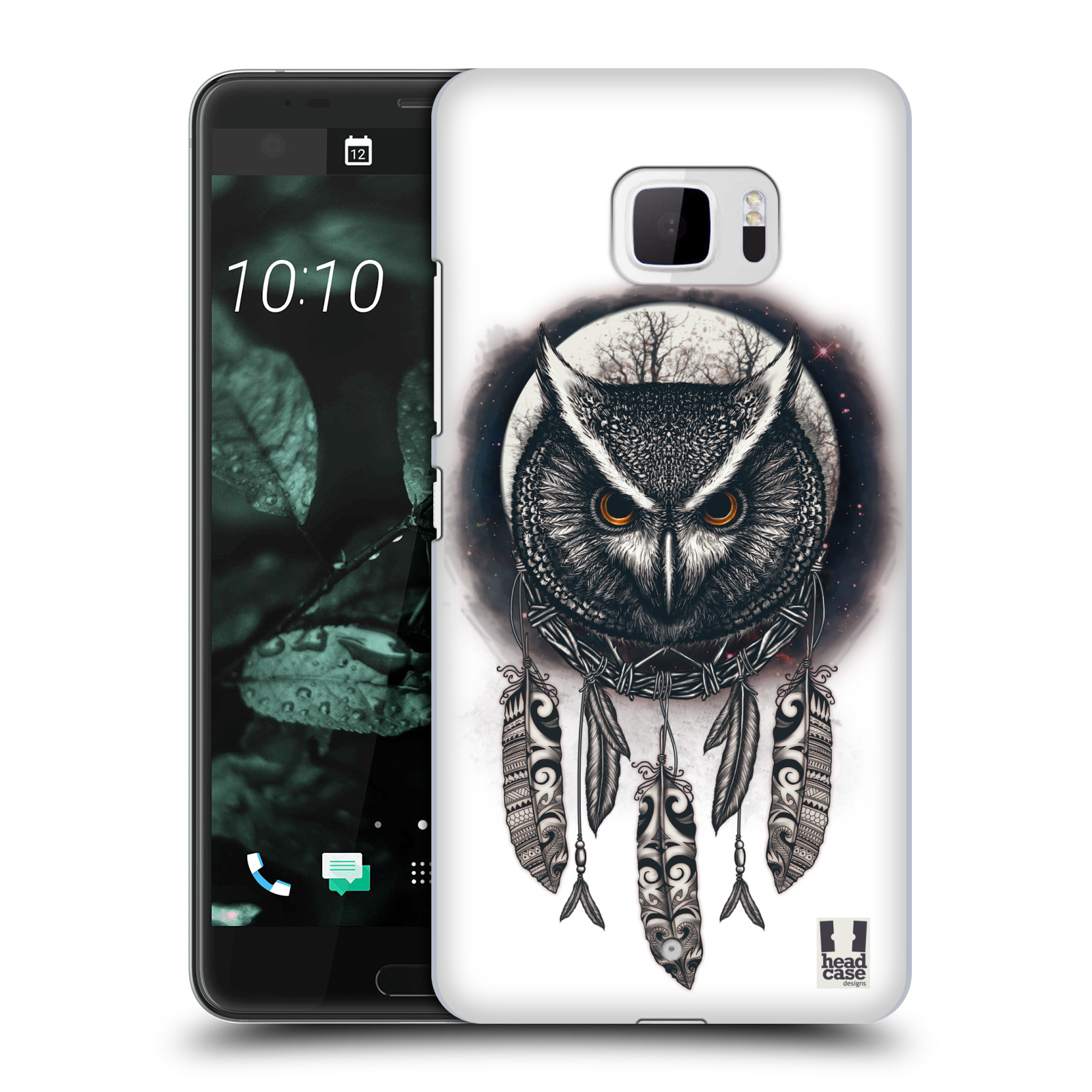 Plastové pouzdro na mobil HTC U Ultra - Head Case - Soví lapač