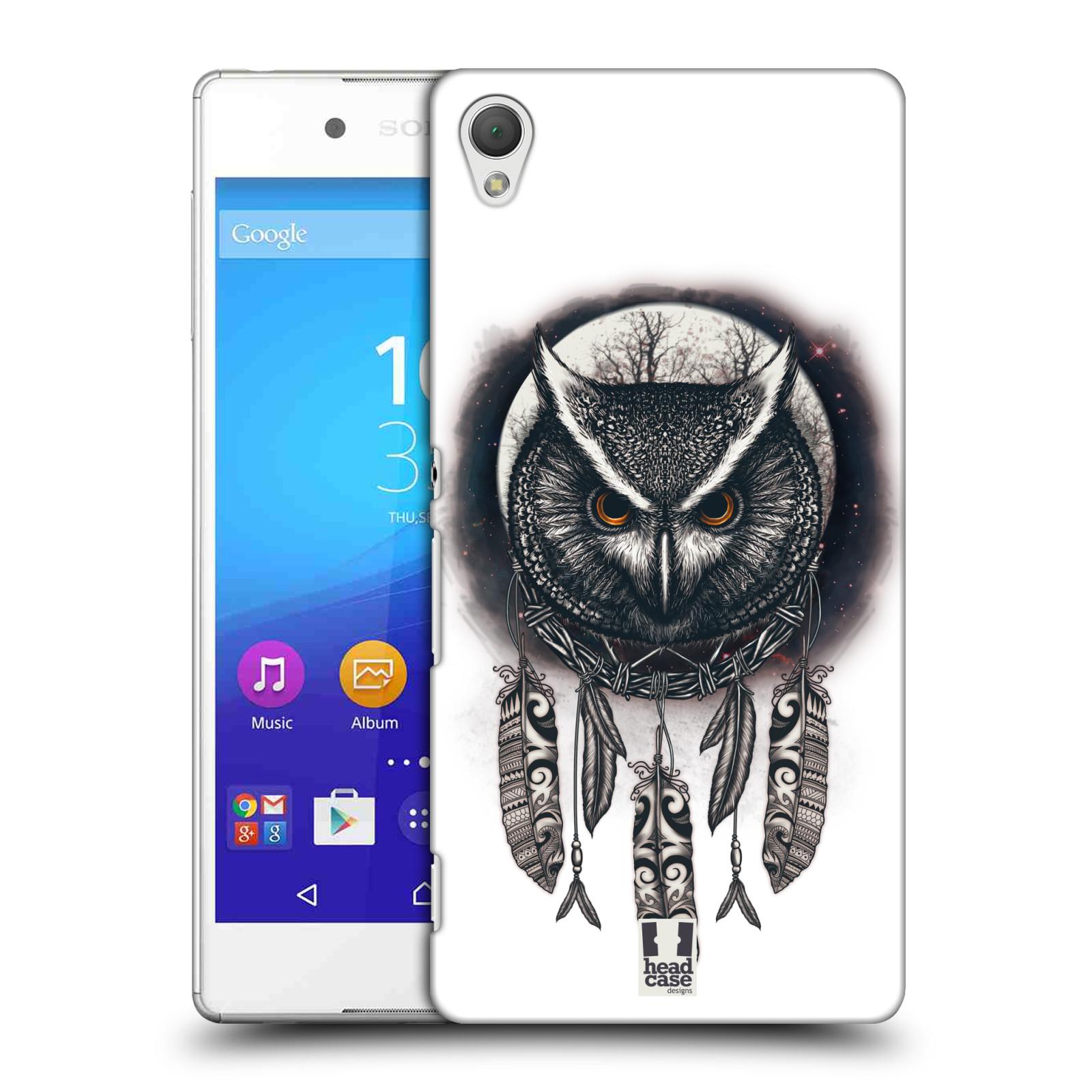 Plastové pouzdro na mobil Sony Xperia Z3+ (Plus) - Head Case - Soví lapač