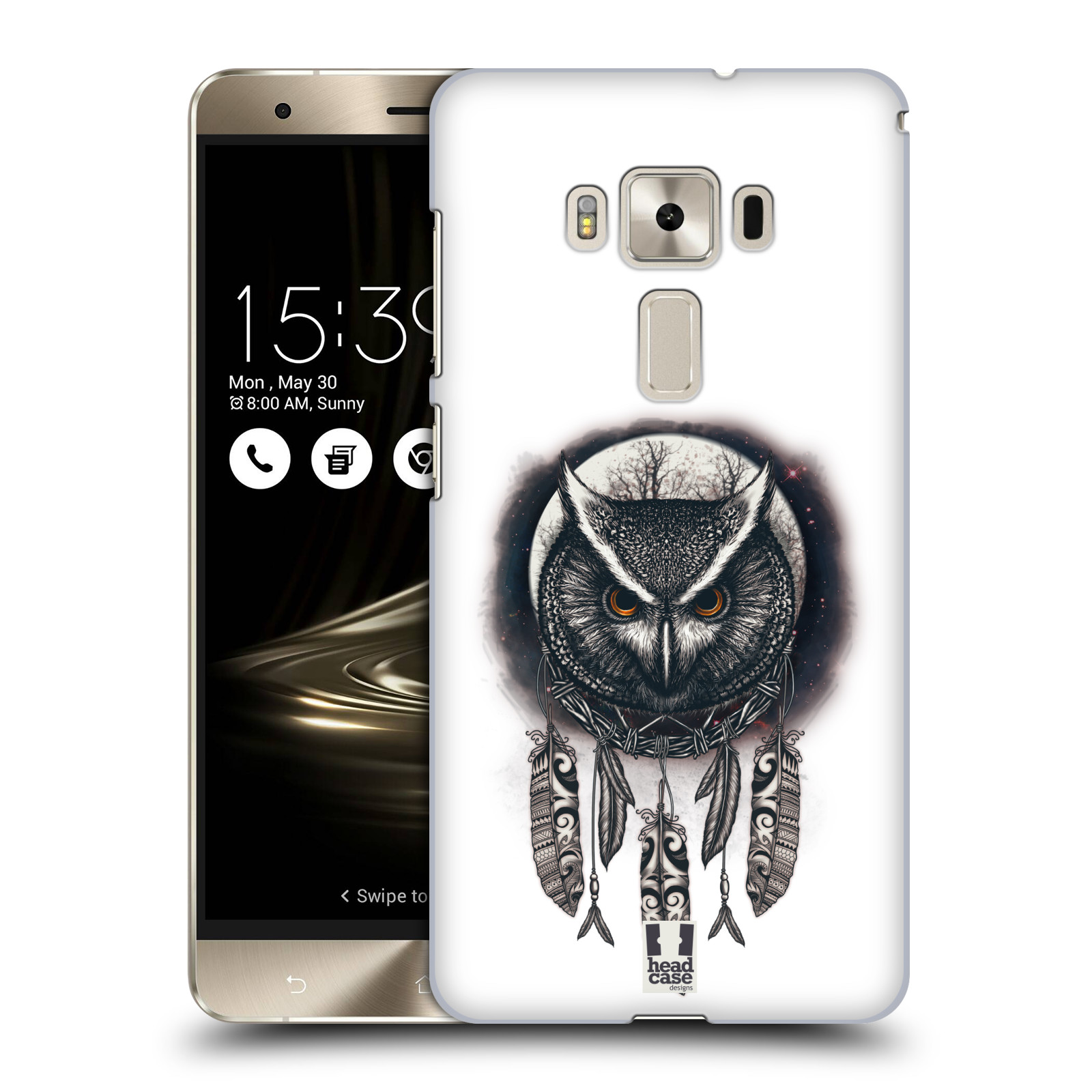Plastové pouzdro na mobil Asus ZenFone 3 Deluxe ZS570KL - Head Case - Soví lapač
