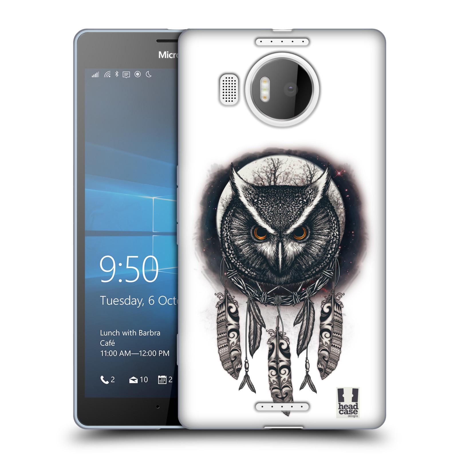 Silikonové pouzdro na mobil Microsoft Lumia 950 XL - Head Case - Soví lapač