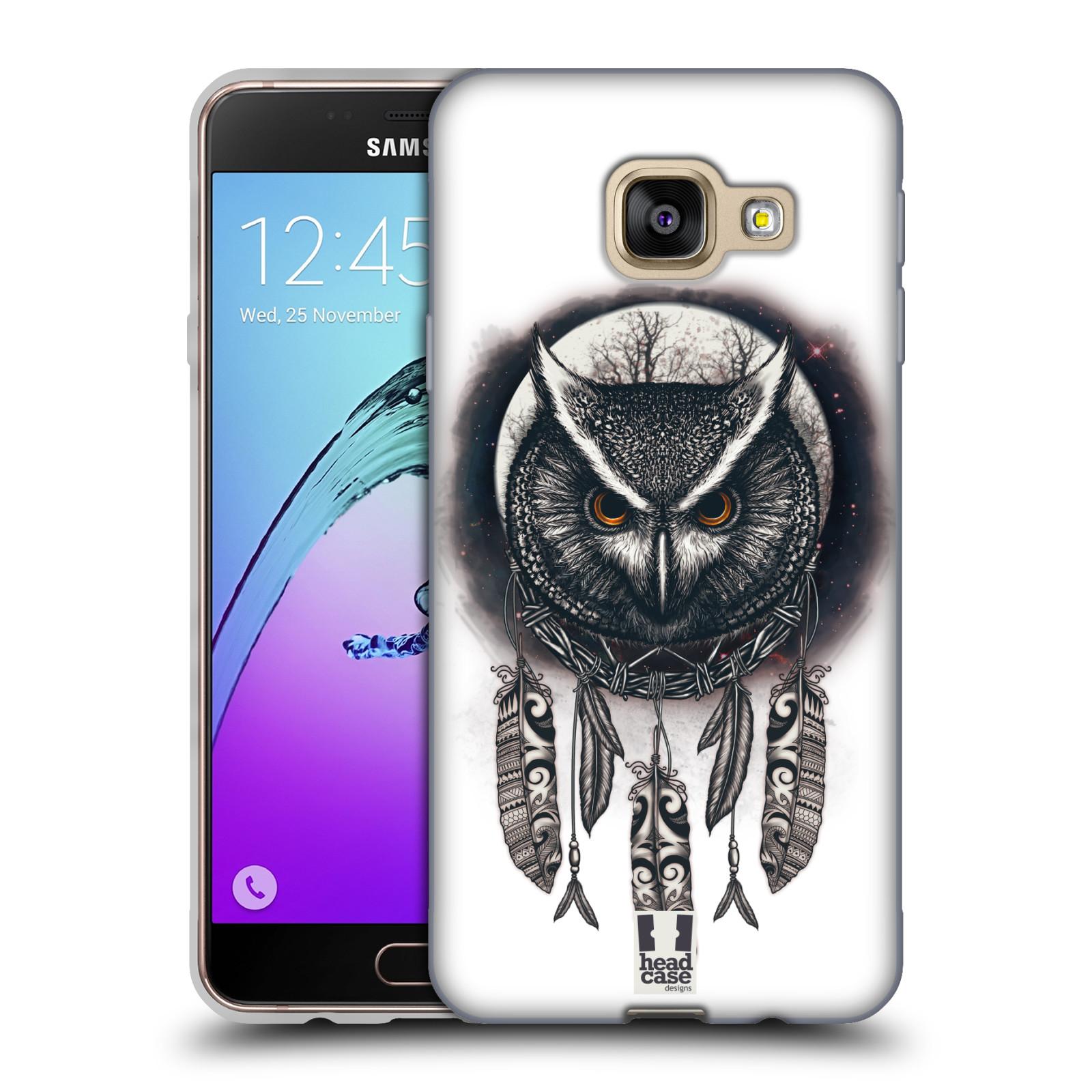 Silikonové pouzdro na mobil Samsung Galaxy A3 (2016) - Head Case - Soví lapač