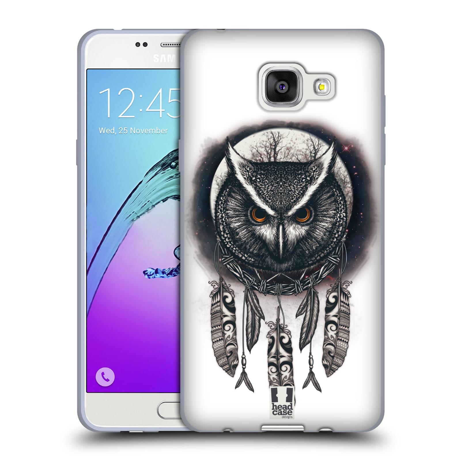 Silikonové pouzdro na mobil Samsung Galaxy A5 (2016) - Head Case - Soví lapač
