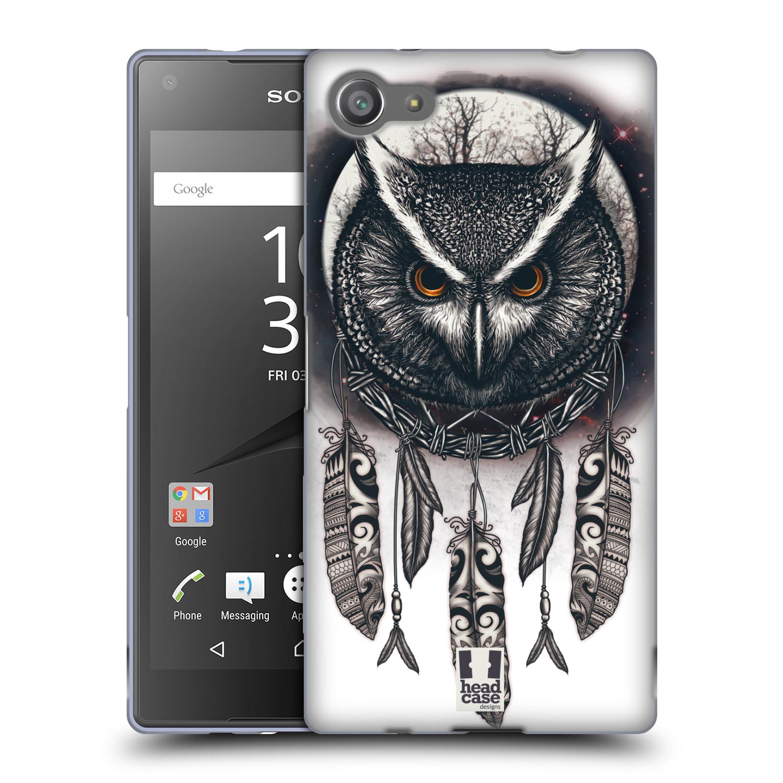 Silikonové pouzdro na mobil Sony Xperia Z5 Compact - Head Case - Soví lapač