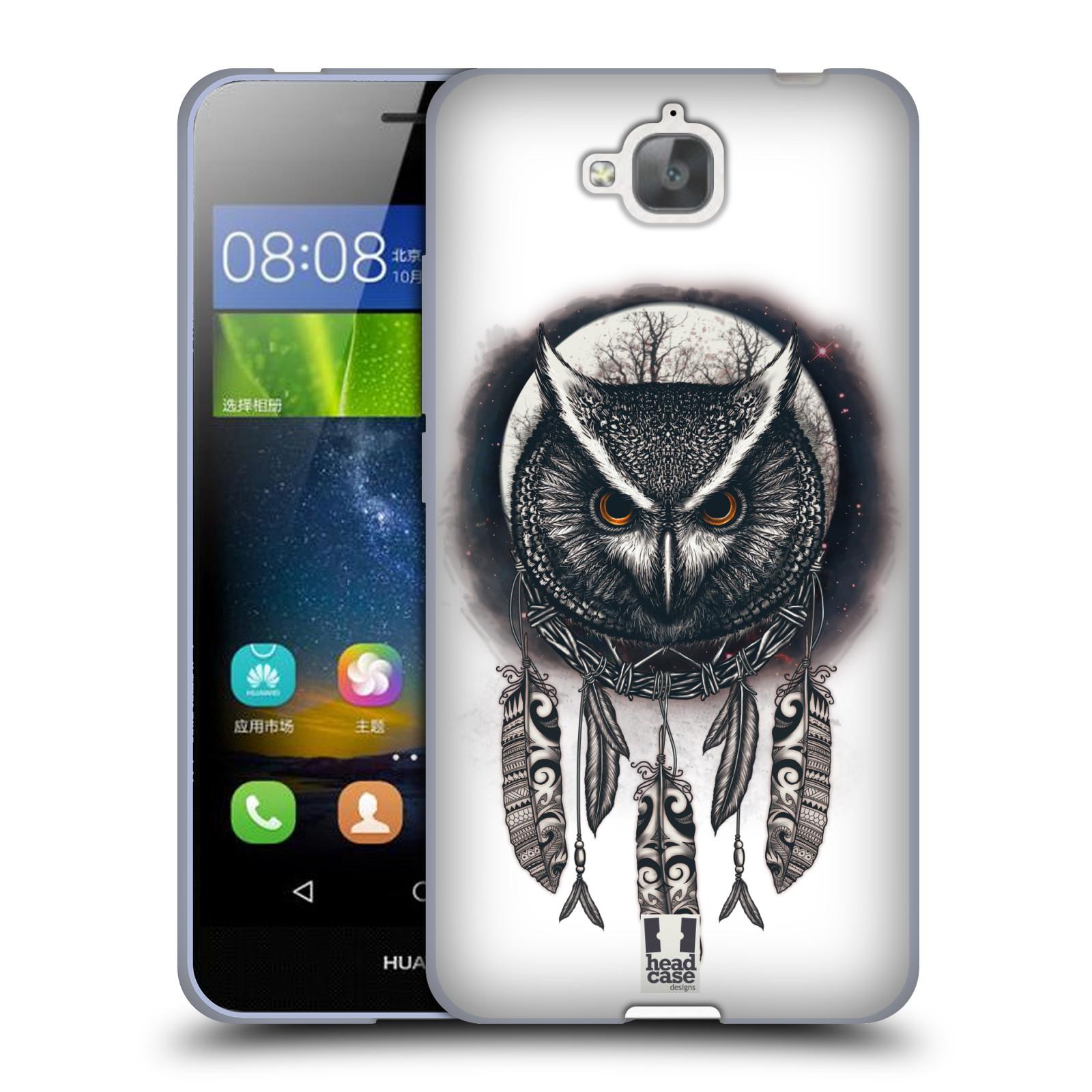 Silikonové pouzdro na mobil Huawei Y6 Pro Dual Sim - Head Case - Soví lapač