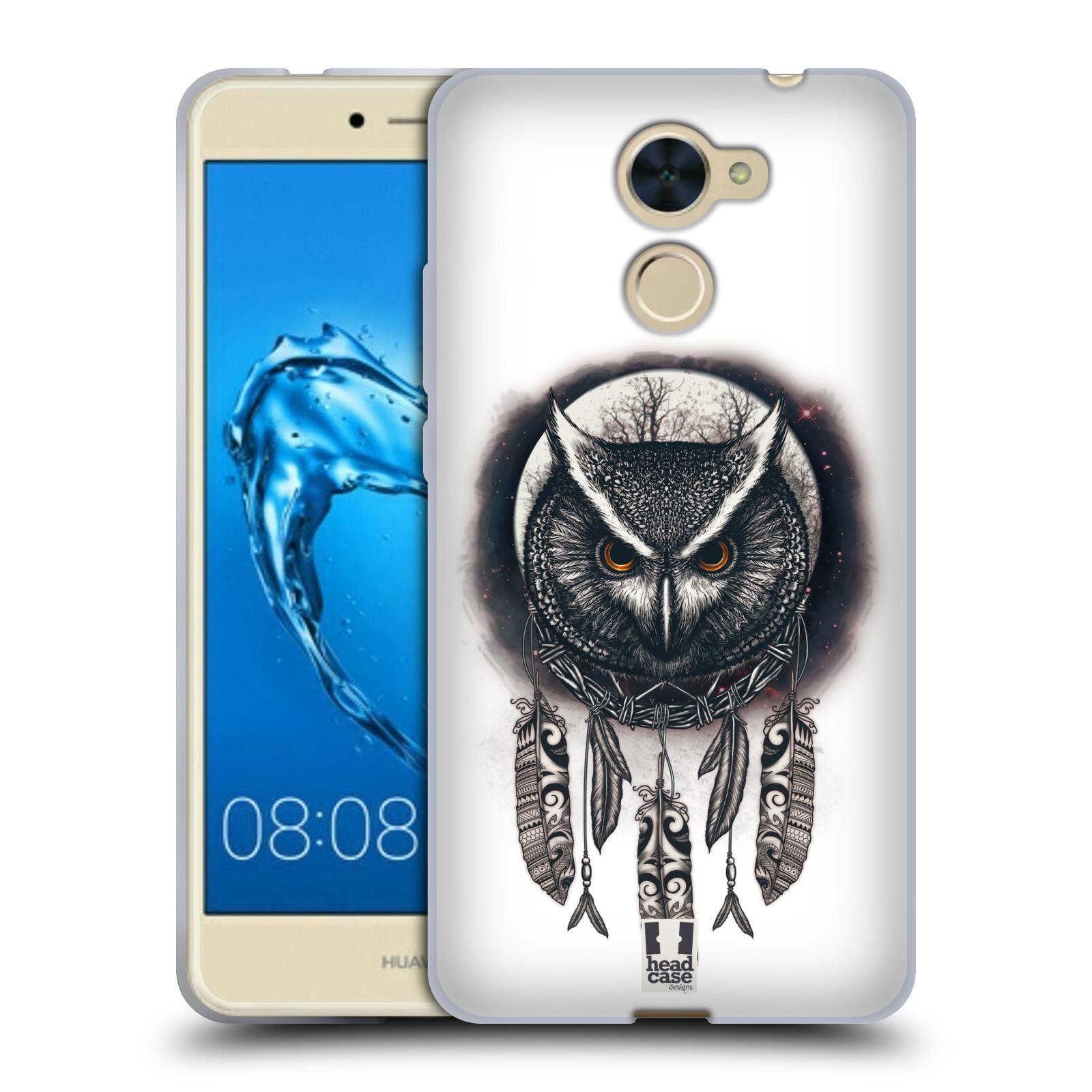 Silikonové pouzdro na mobil Huawei Y7 - Head Case - Soví lapač