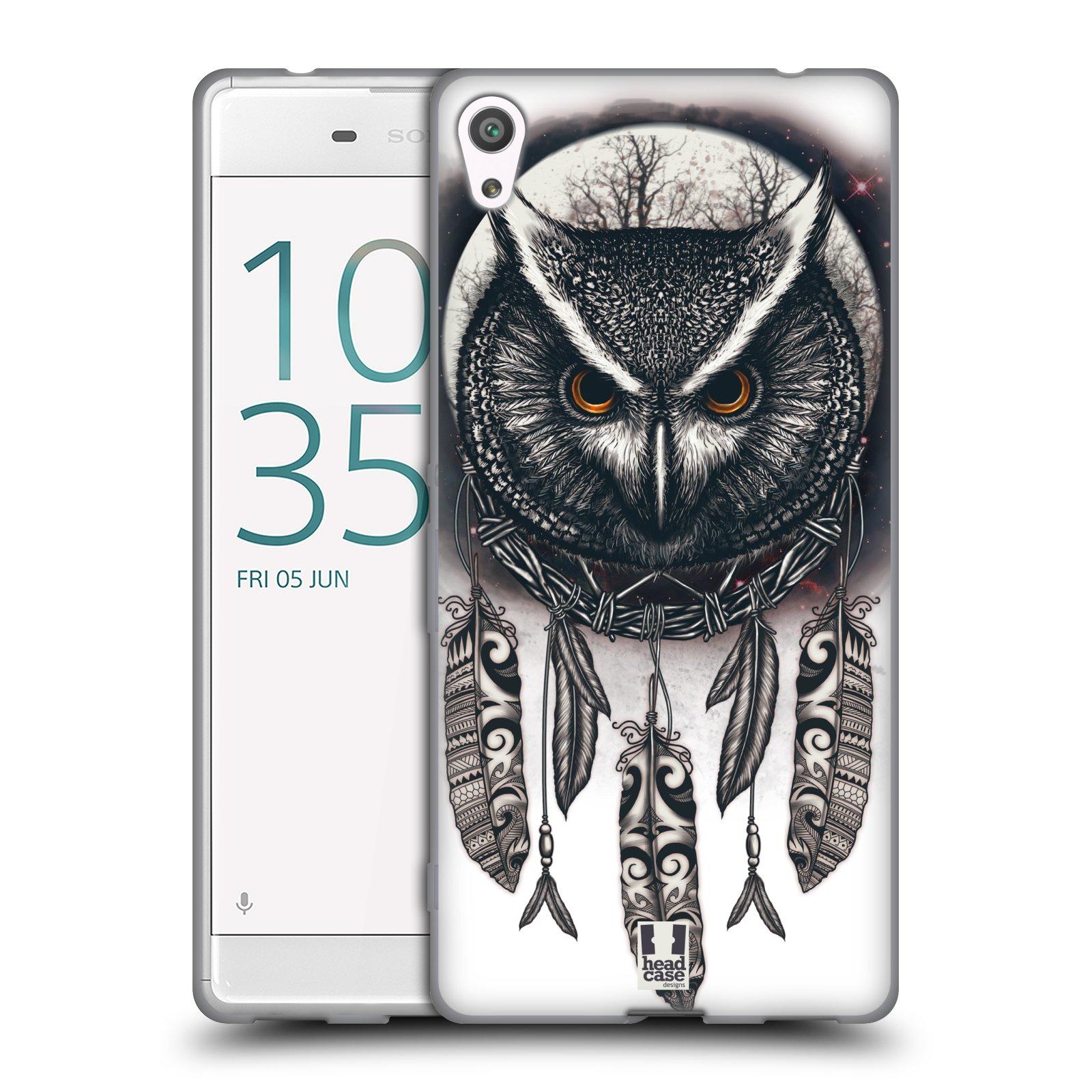 Silikonové pouzdro na mobil Sony Xperia XA Ultra - Head Case - Soví lapač