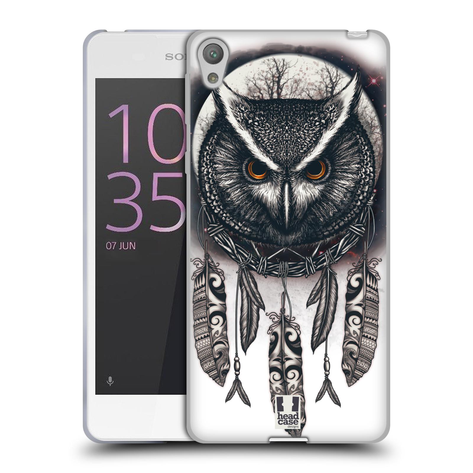 Silikonové pouzdro na mobil Sony Xperia E5 - Head Case - Soví lapač