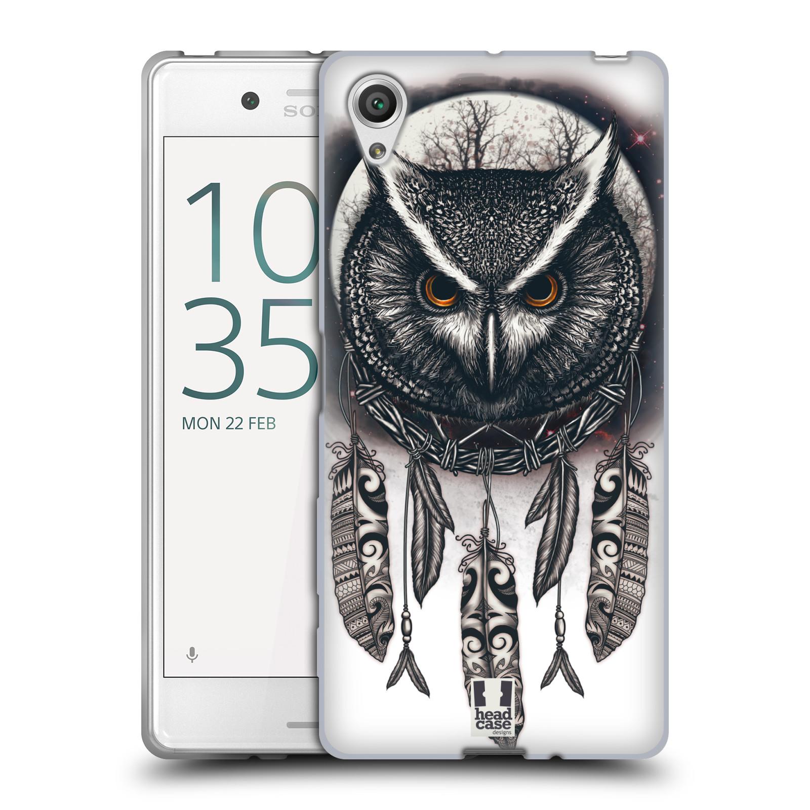 Silikonové pouzdro na mobil Sony Xperia X - Head Case - Soví lapač