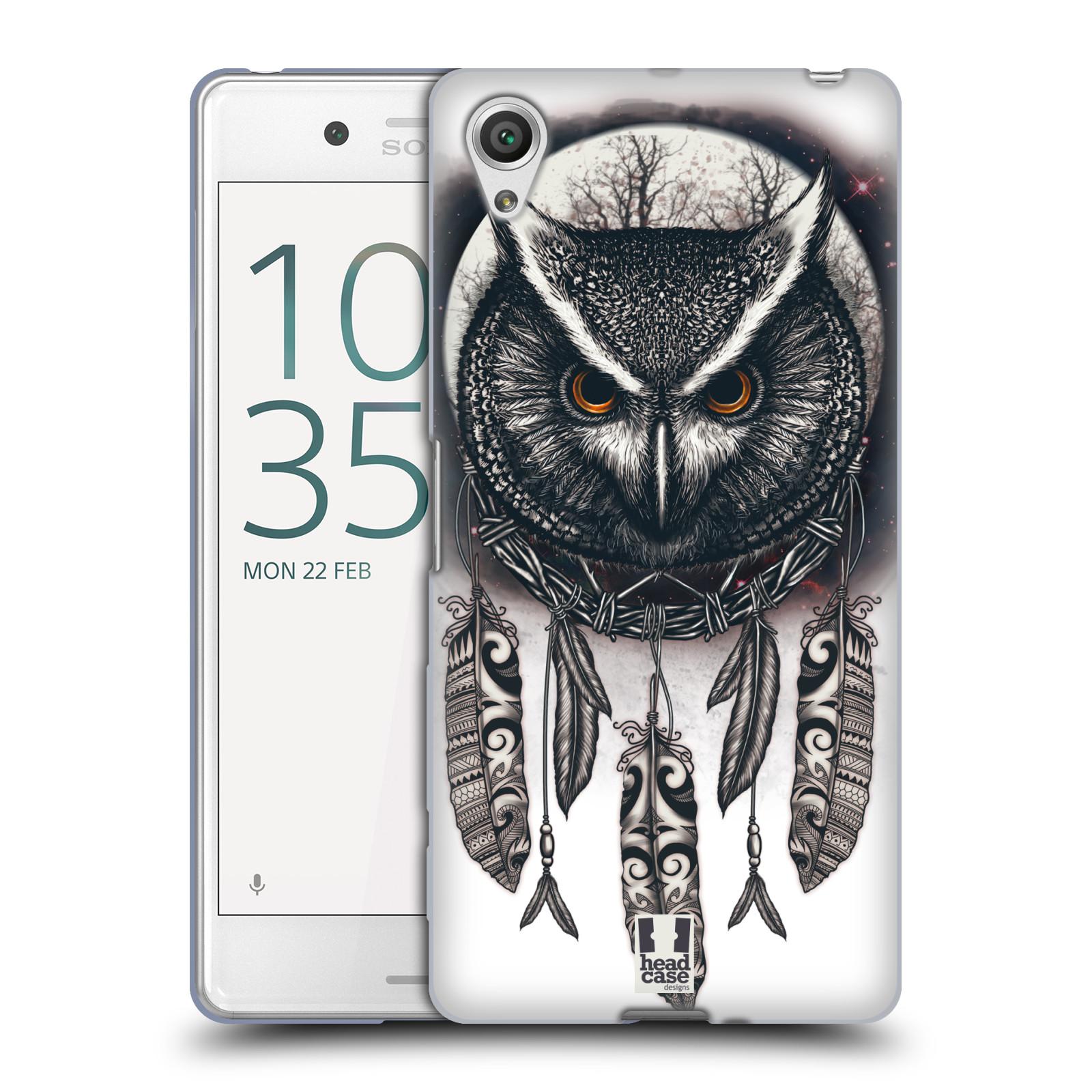 Silikonové pouzdro na mobil Sony Xperia X Performance - Head Case - Soví lapač