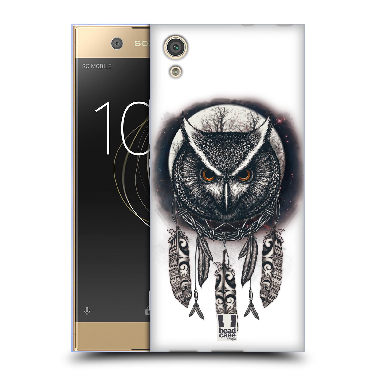 Silikonové pouzdro na mobil Sony Xperia XA1 - Head Case - Soví lapač