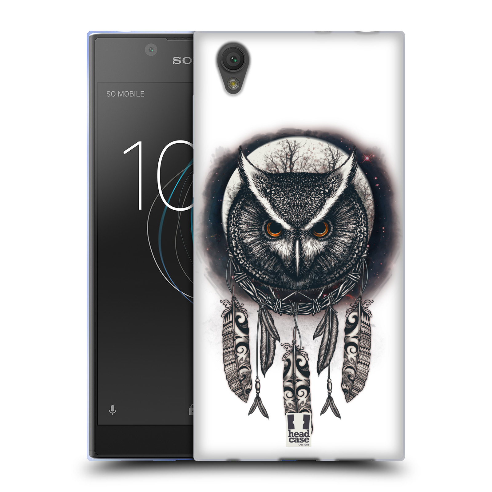 Silikonové pouzdro na mobil Sony Xperia L1 - Head Case - Soví lapač