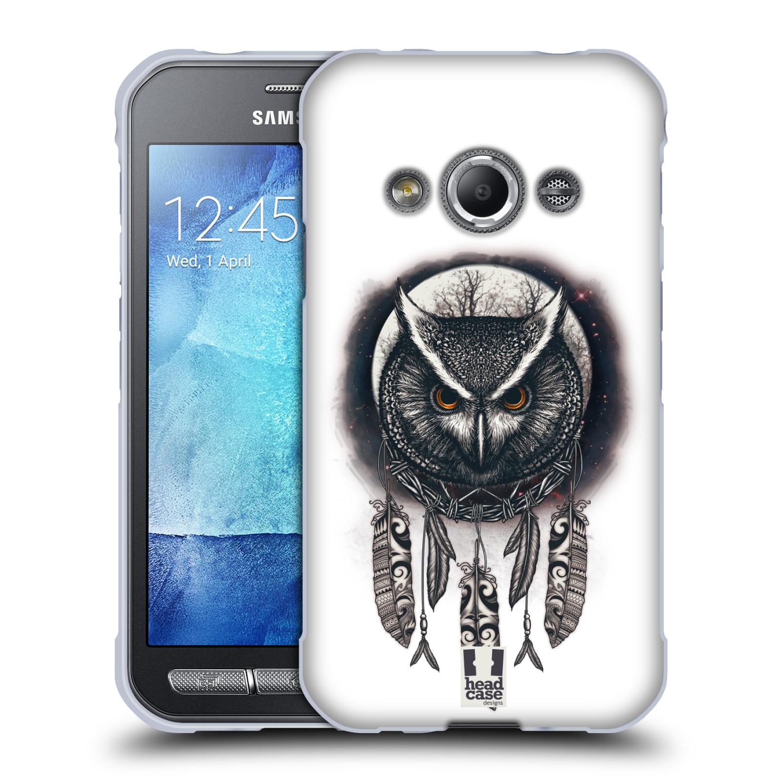 Silikonové pouzdro na mobil Samsung Galaxy Xcover 3 - Head Case - Soví lapač