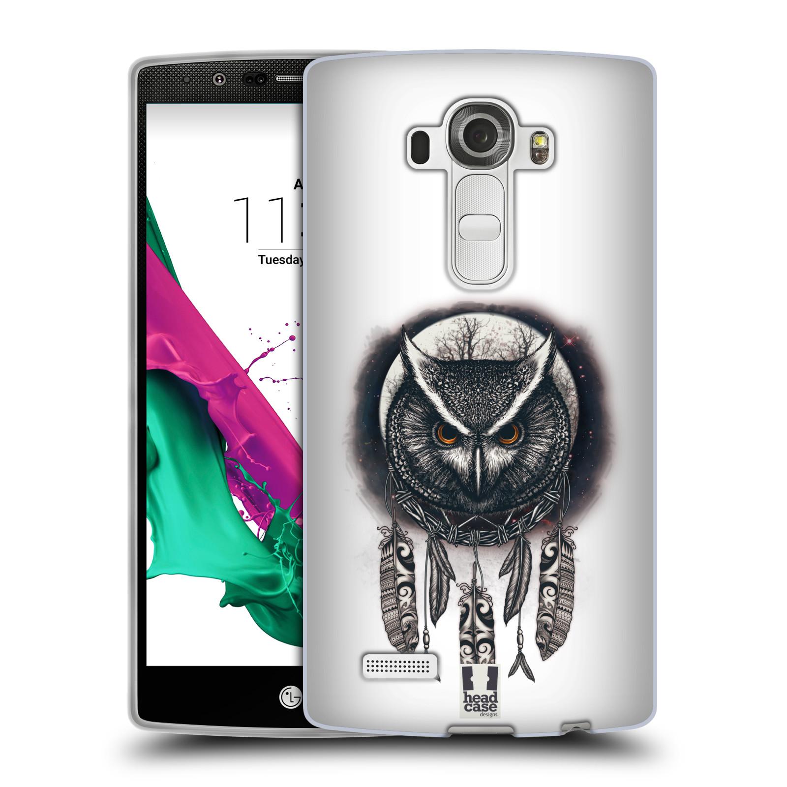 Silikonové pouzdro na mobil LG G4 - Head Case - Soví lapač