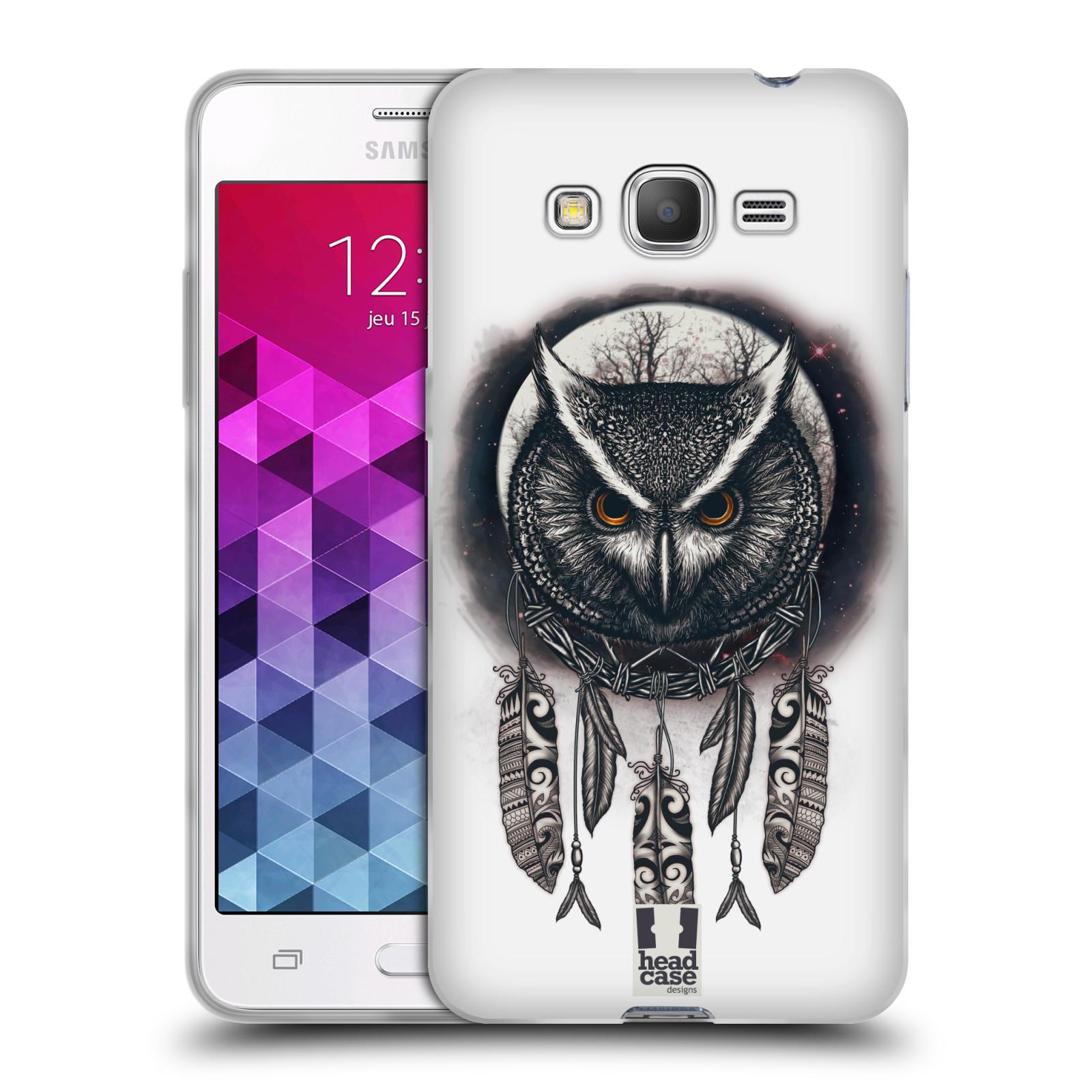 Silikonové pouzdro na mobil Samsung Galaxy Grand Prime - Head Case - Soví lapač