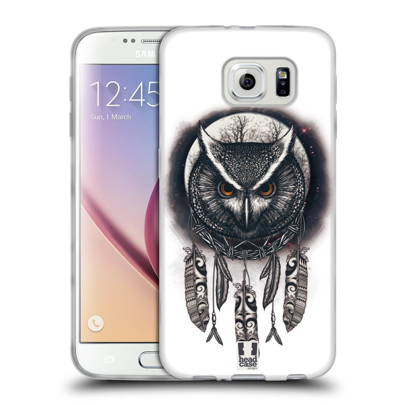 Silikonové pouzdro na mobil Samsung Galaxy S6 - Head Case - Soví lapač