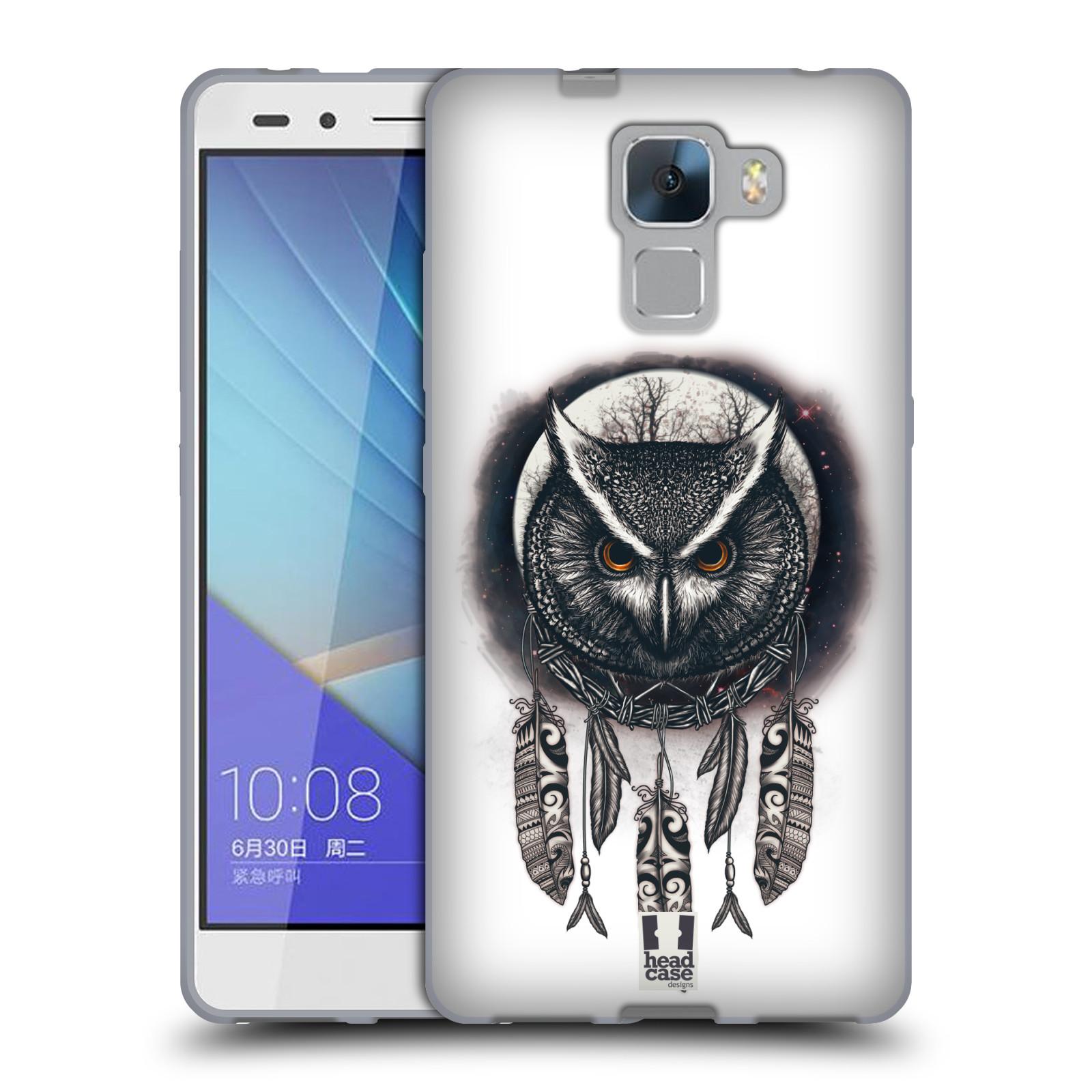 Silikonové pouzdro na mobil Honor 7 - Head Case - Soví lapač
